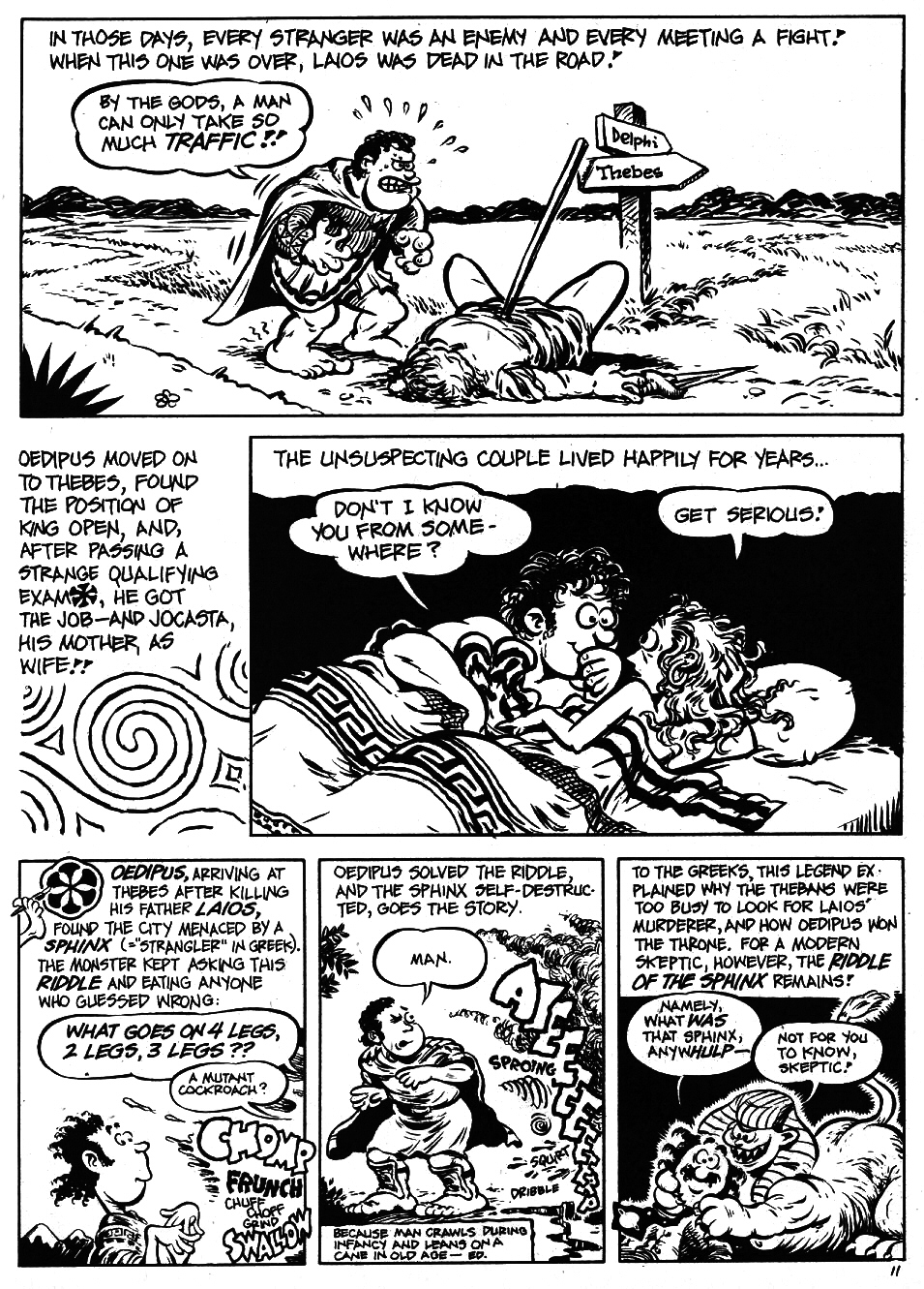 Read online The Cartoon History of the Universe comic -  Issue #5 - 13