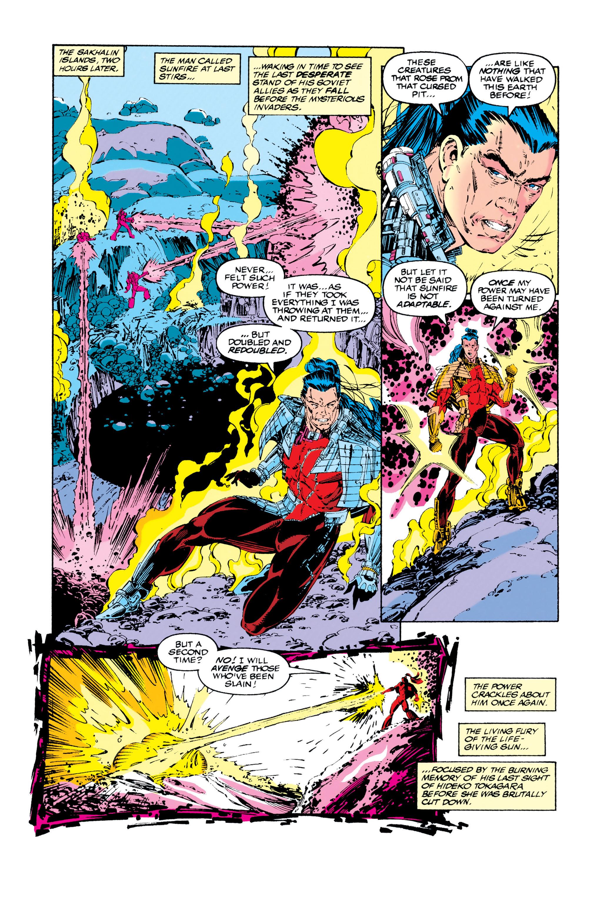 Read online Uncanny X-Men (1963) comic -  Issue #284 - 8