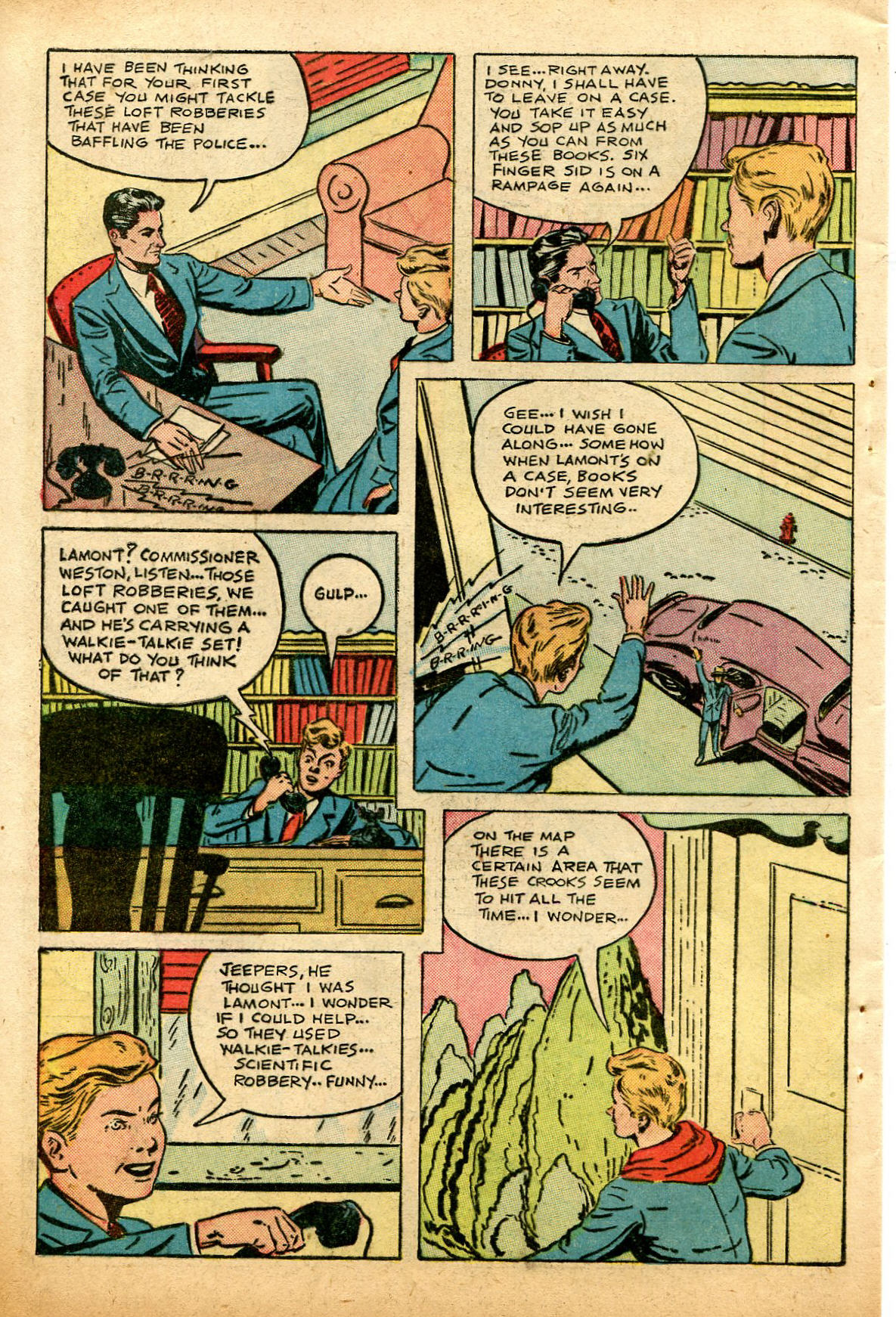 Read online Shadow Comics comic -  Issue #74 - 44