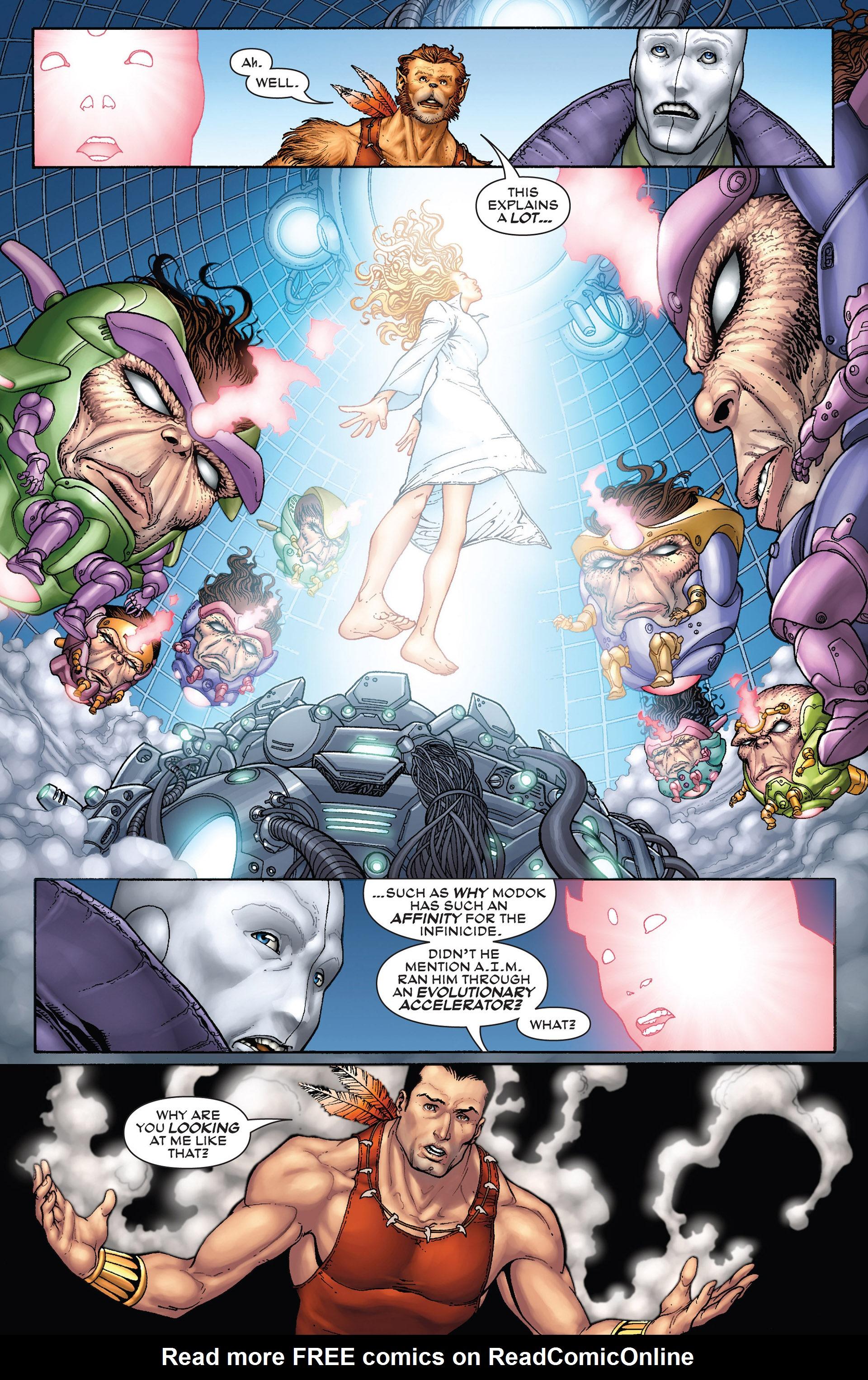 Read online Super-Villain Team-Up/MODOK's 11 comic -  Issue #3 - 17