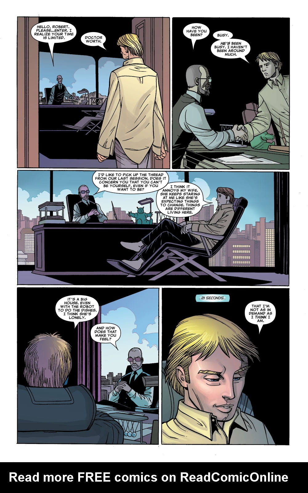 Read online Sentry (2006) comic -  Issue #1 - 19