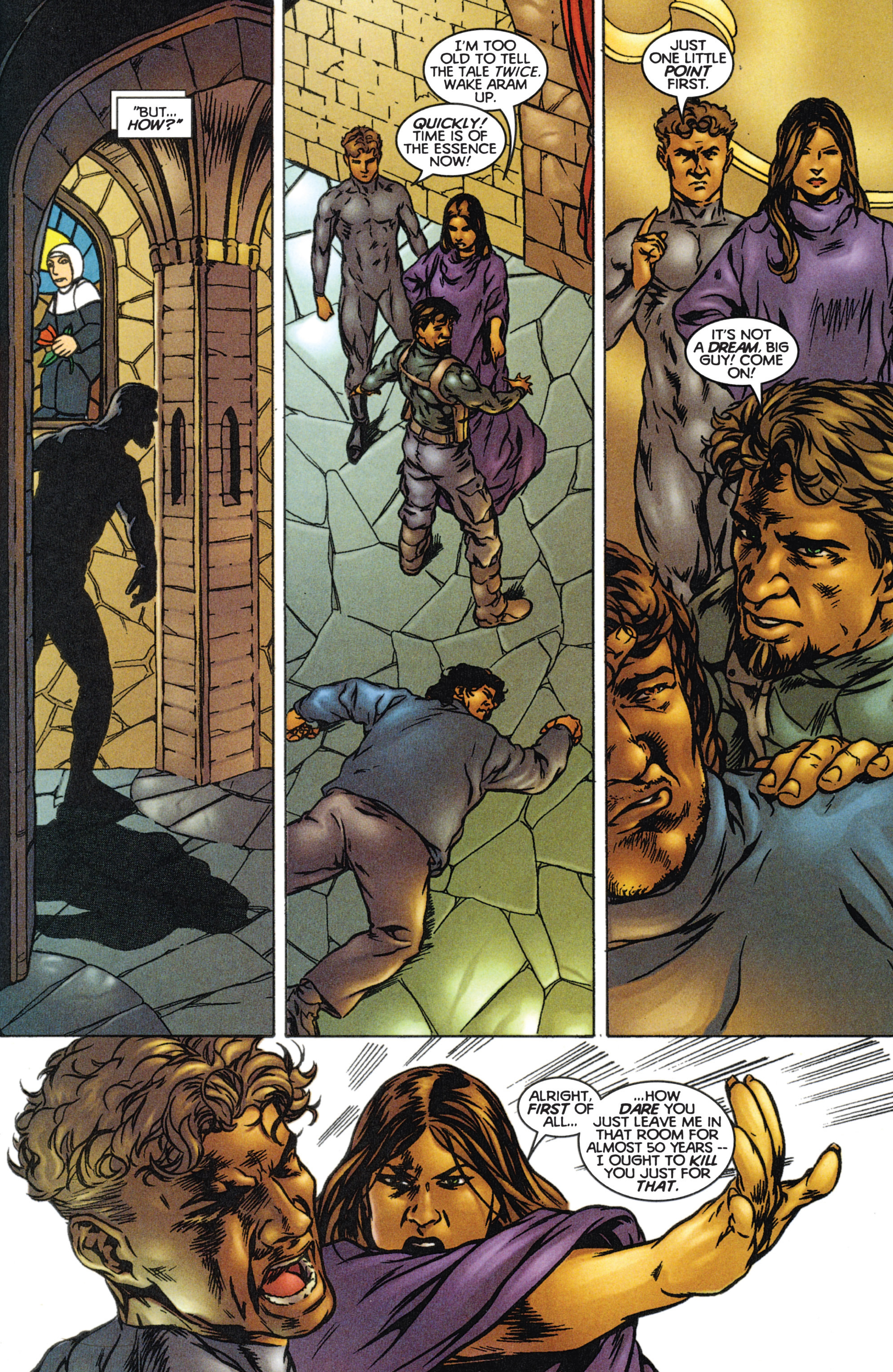 Read online Eternal Warriors comic -  Issue # Issue The Immortal Enemy - 19
