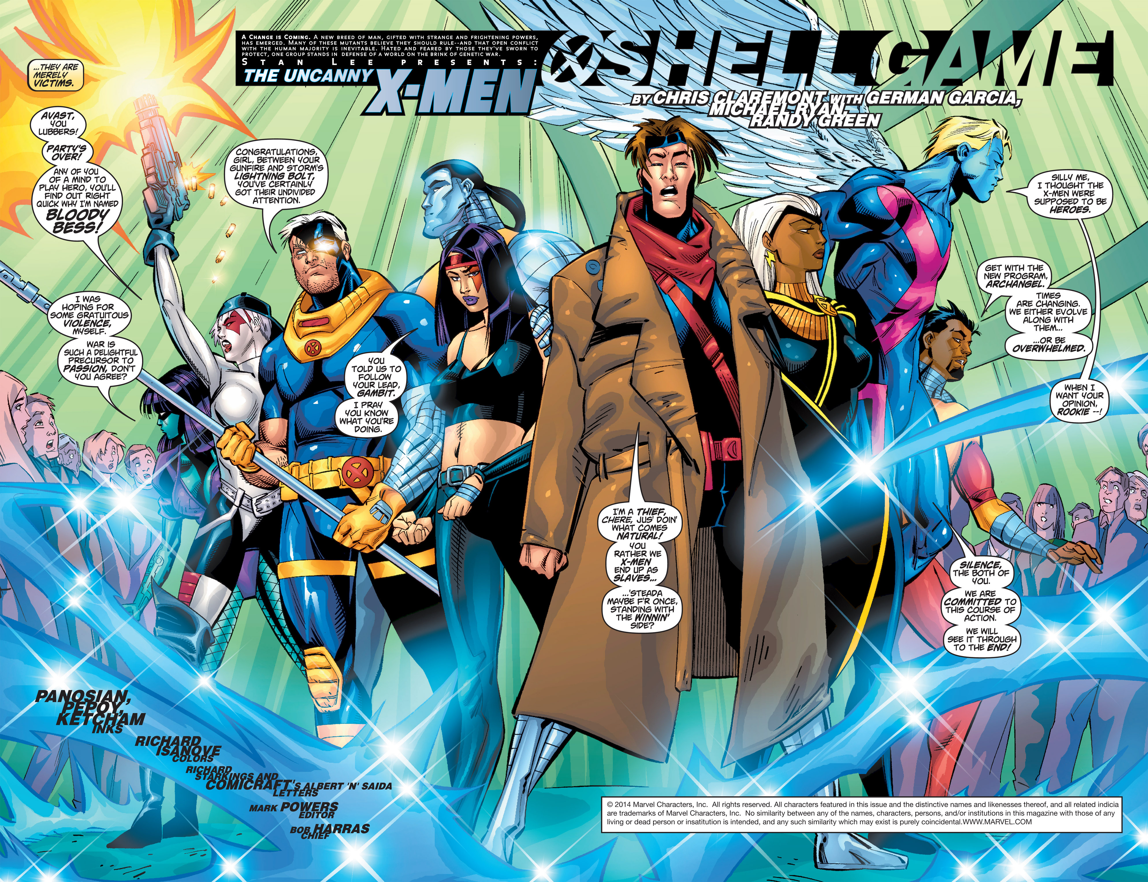 Read online Uncanny X-Men (1963) comic -  Issue #385 - 3