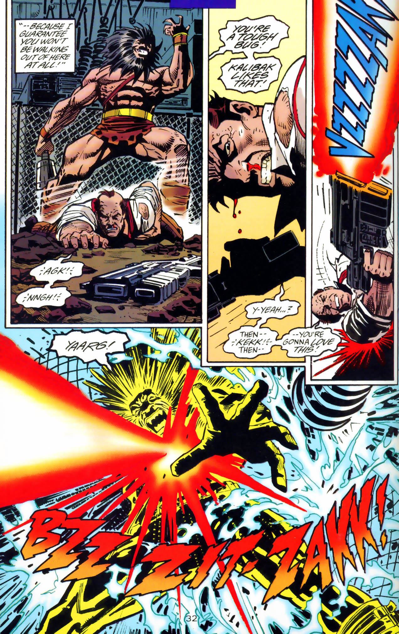 Read online Adventures of Superman (1987) comic -  Issue #Adventures of Superman (1987) _Annual 7 - 33