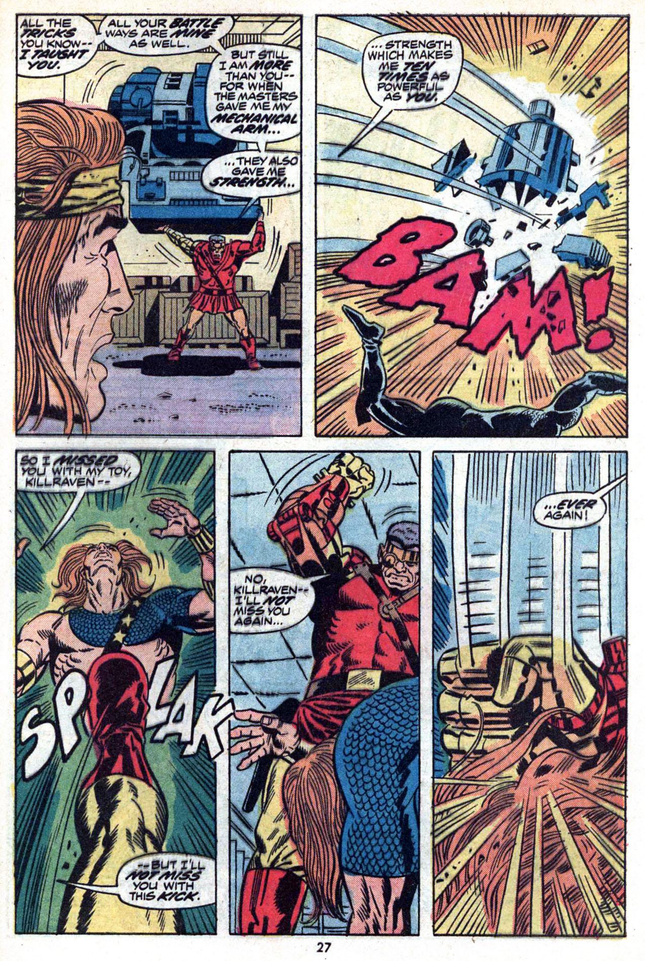 Read online Amazing Adventures (1970) comic -  Issue #20 - 29