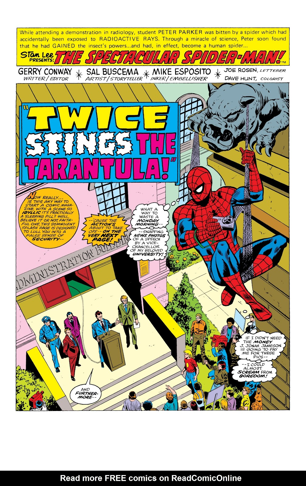 Read online Marvel Masterworks: The Spectacular Spider-Man comic -  Issue # TPB (Part 1) - 9