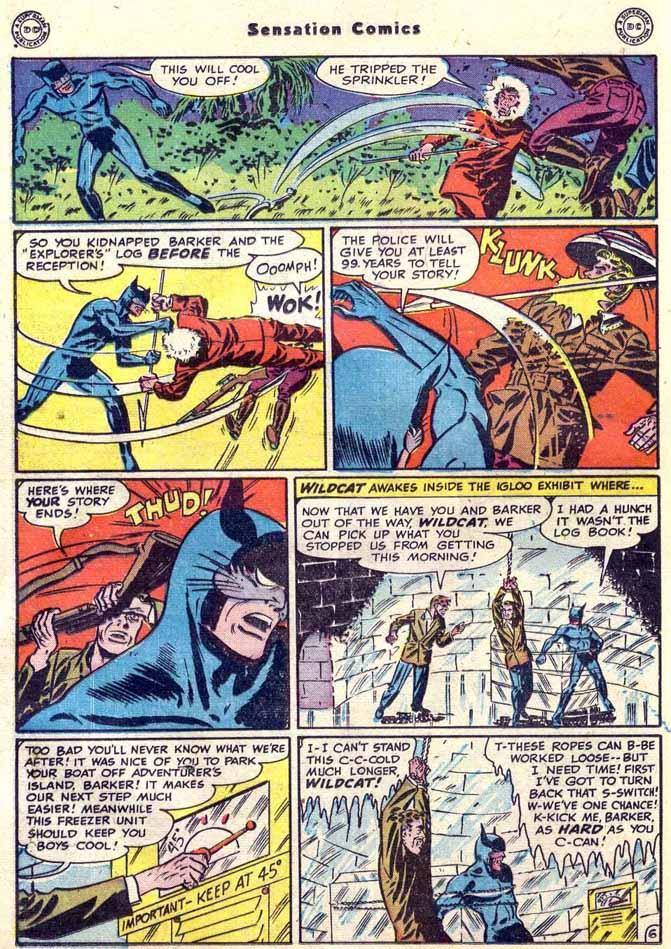 Read online Sensation (Mystery) Comics comic -  Issue #89 - 22