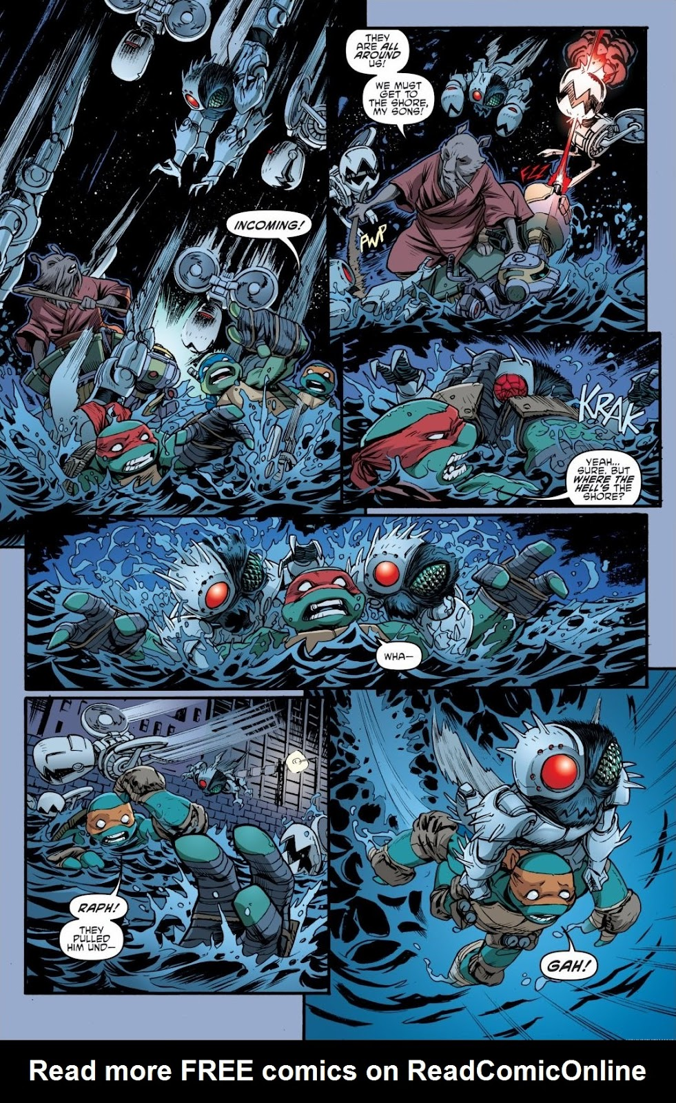 Read online Teenage Mutant Ninja Turtles: The IDW Collection comic -  Issue # TPB 6 (Part 3) - 9
