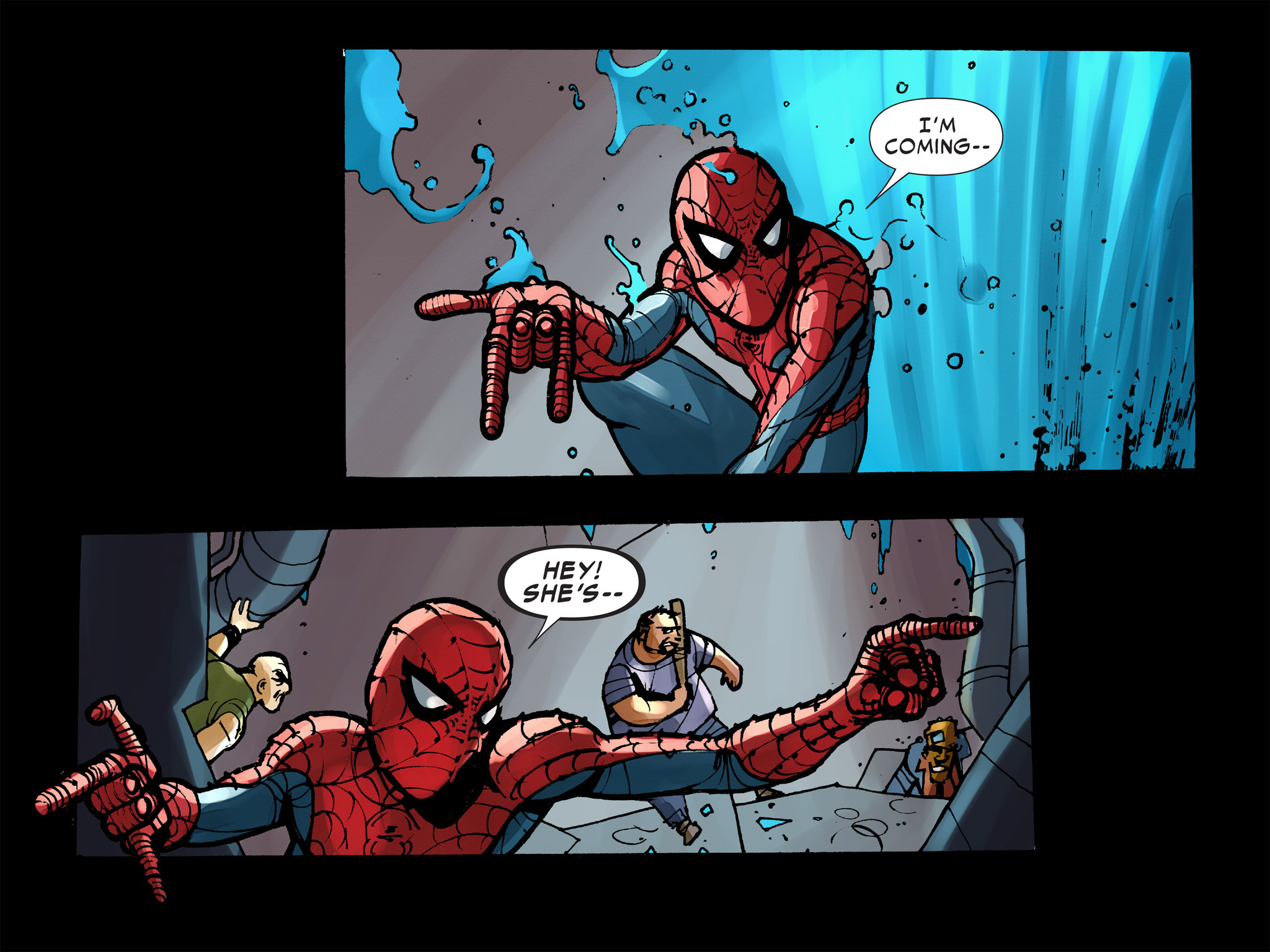 Read online Amazing Spider-Man: Who Am I? comic -  Issue # Full (Part 2) - 152