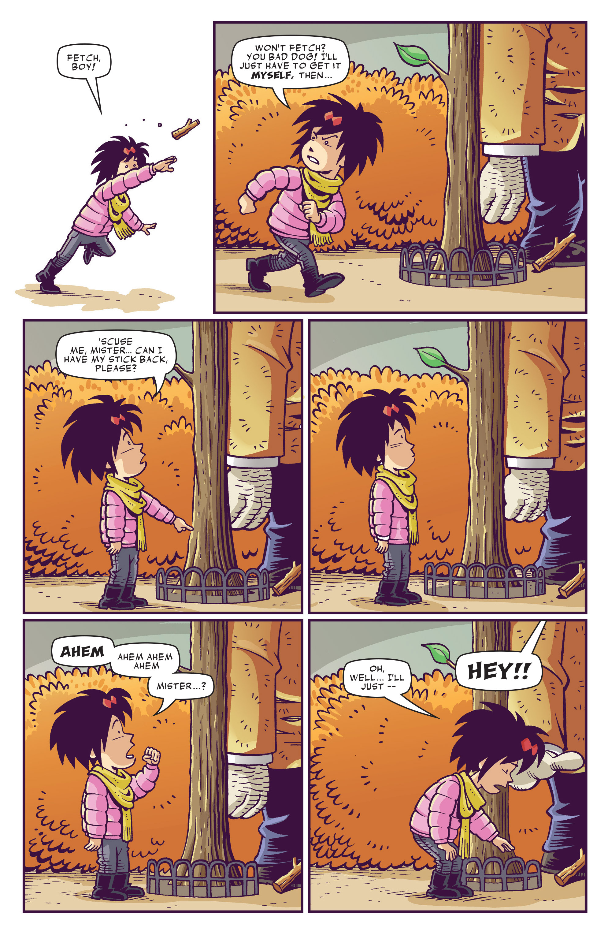 Read online Abigail And The Snowman comic -  Issue #1 - 13