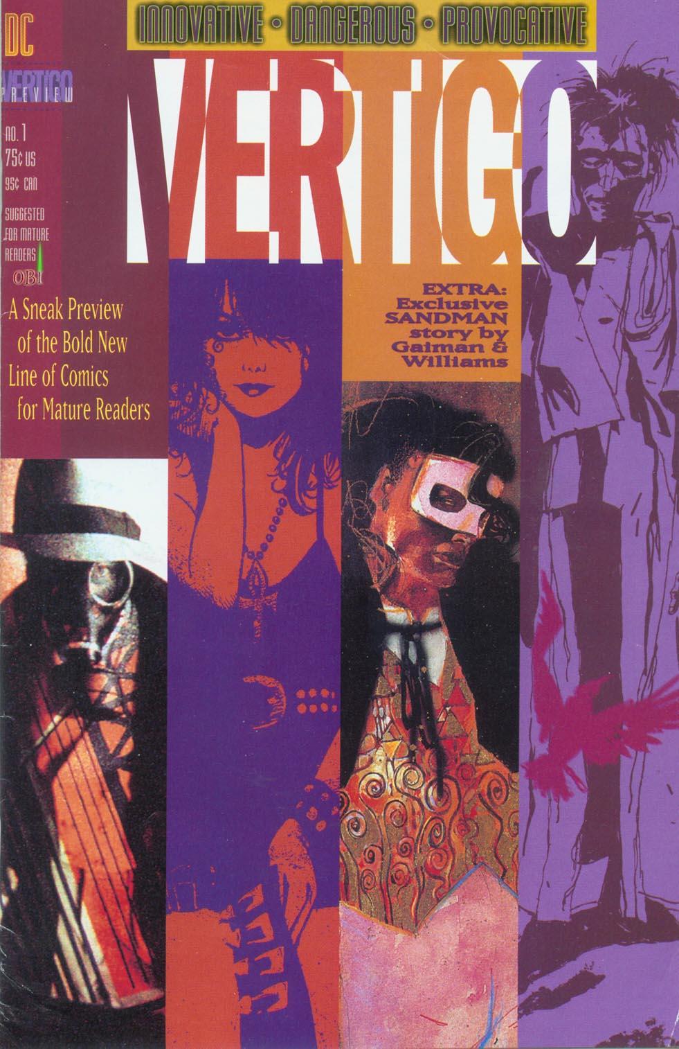 Vertigo Preview issue 1 - Page 1