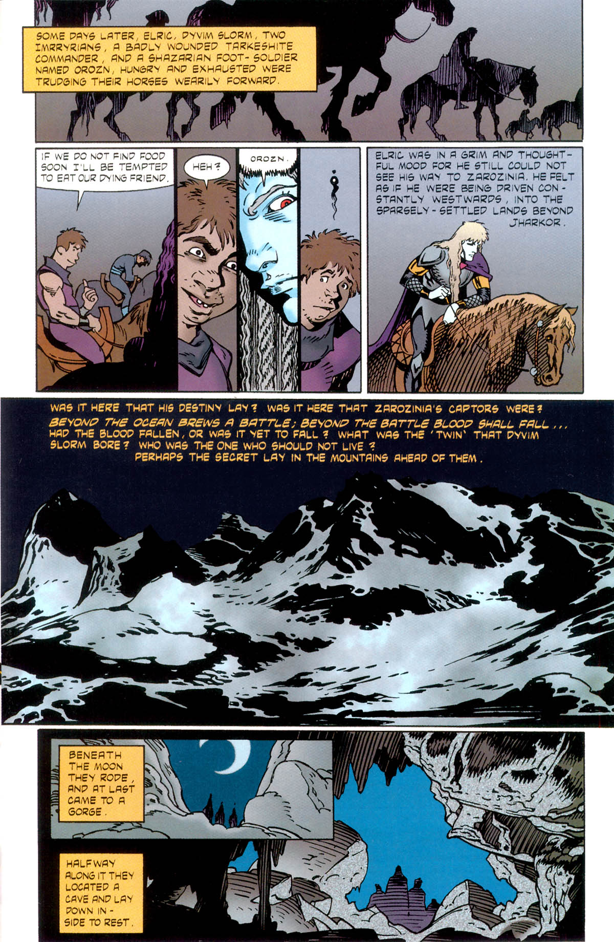 Read online Elric: Stormbringer comic -  Issue #1 - 29