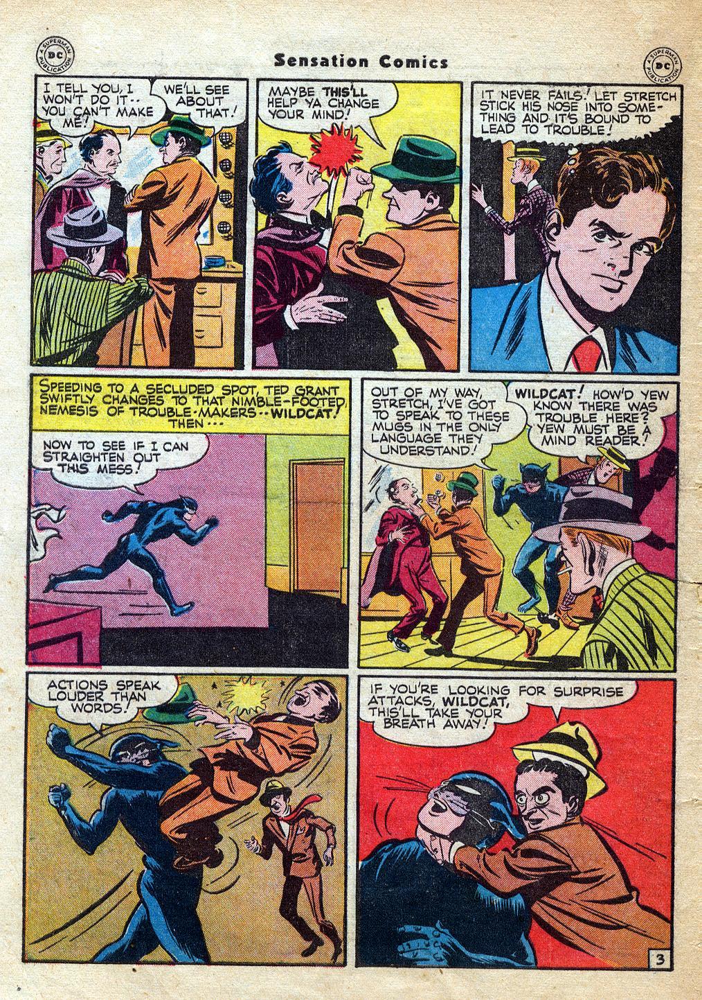 Read online Sensation (Mystery) Comics comic -  Issue #60 - 44