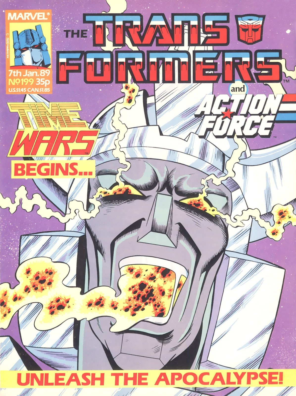 The Transformers (UK) 199 Page 1