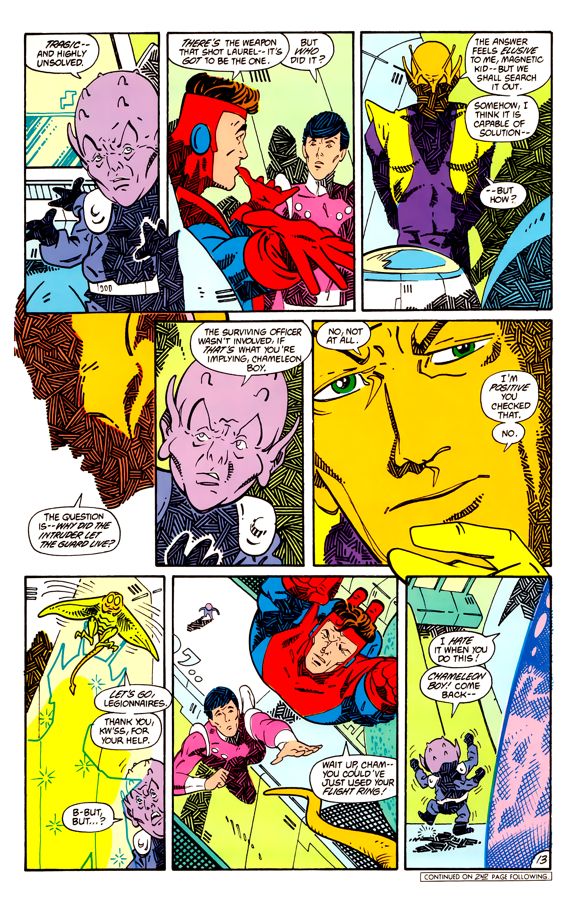 Legion of Super-Heroes (1984) _Annual_1 Page 14