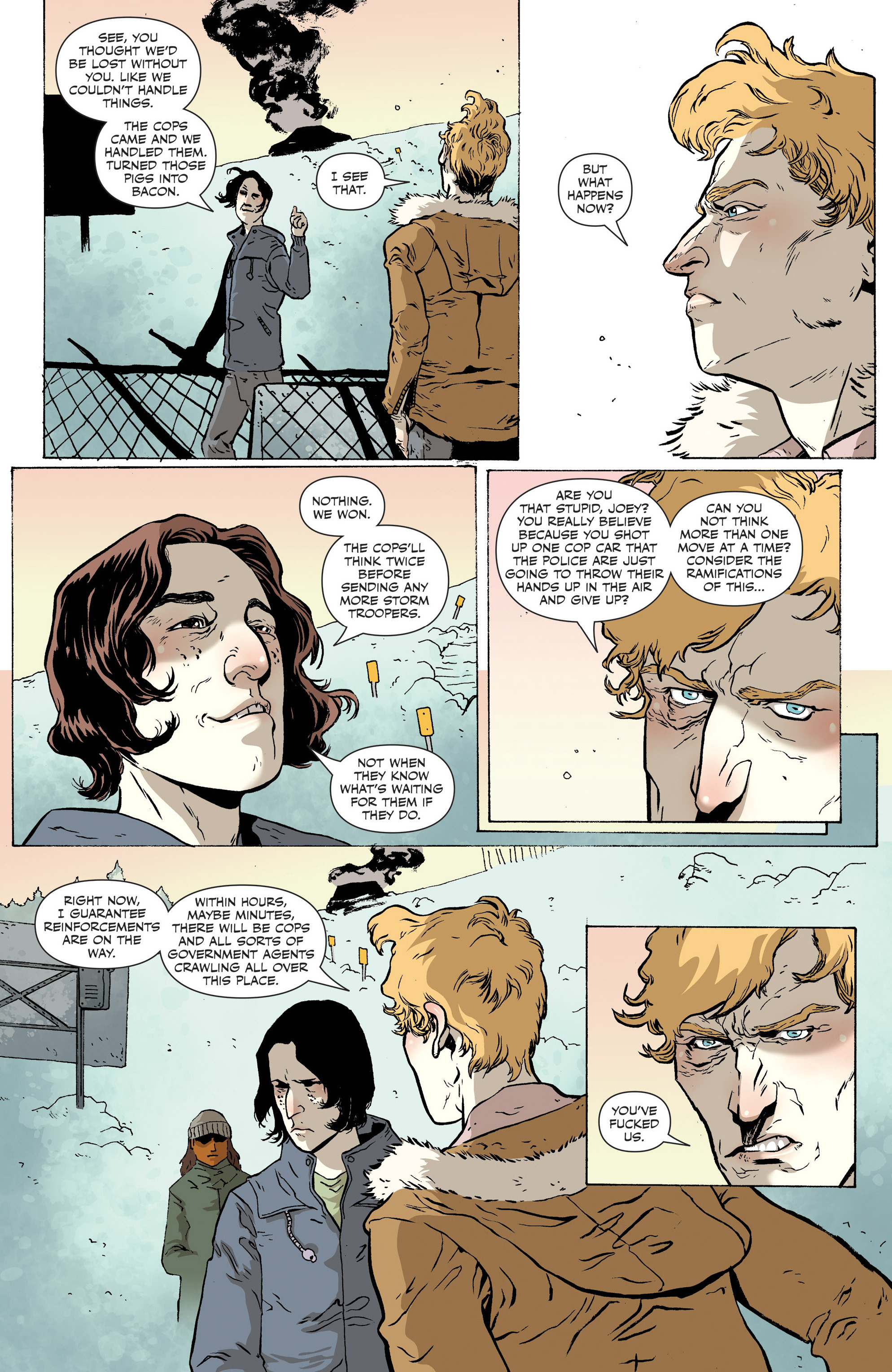 Read online Sheltered comic -  Issue #12 - 22