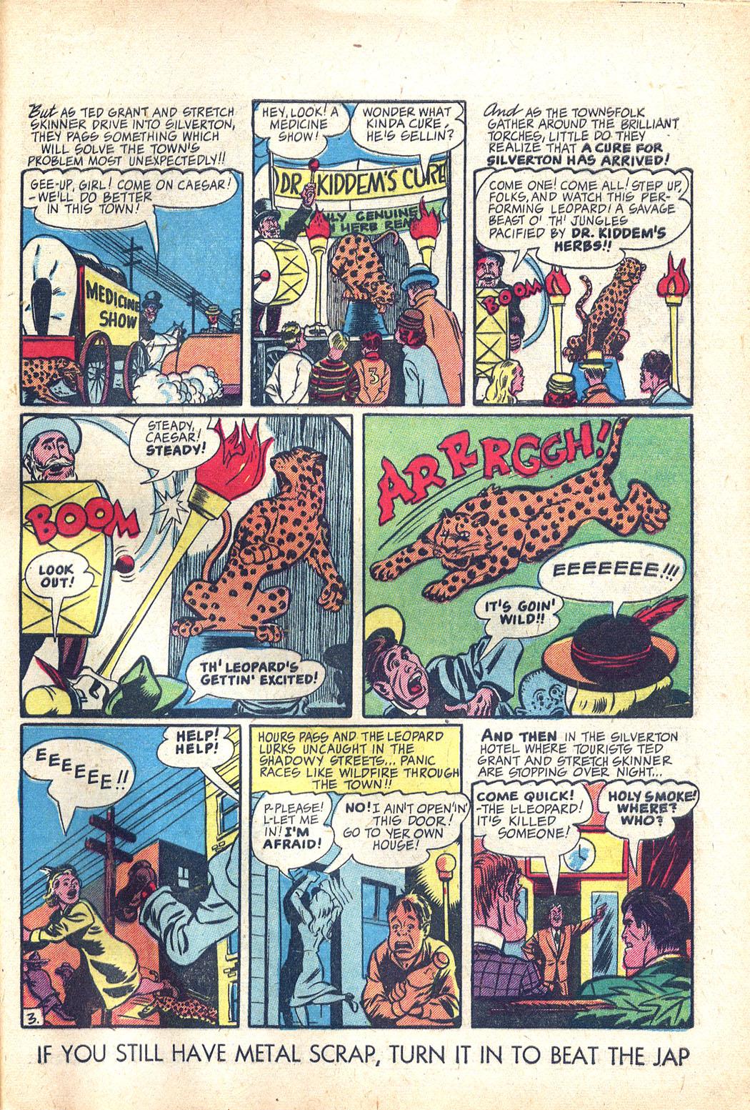 Read online Sensation (Mystery) Comics comic -  Issue #34 - 43