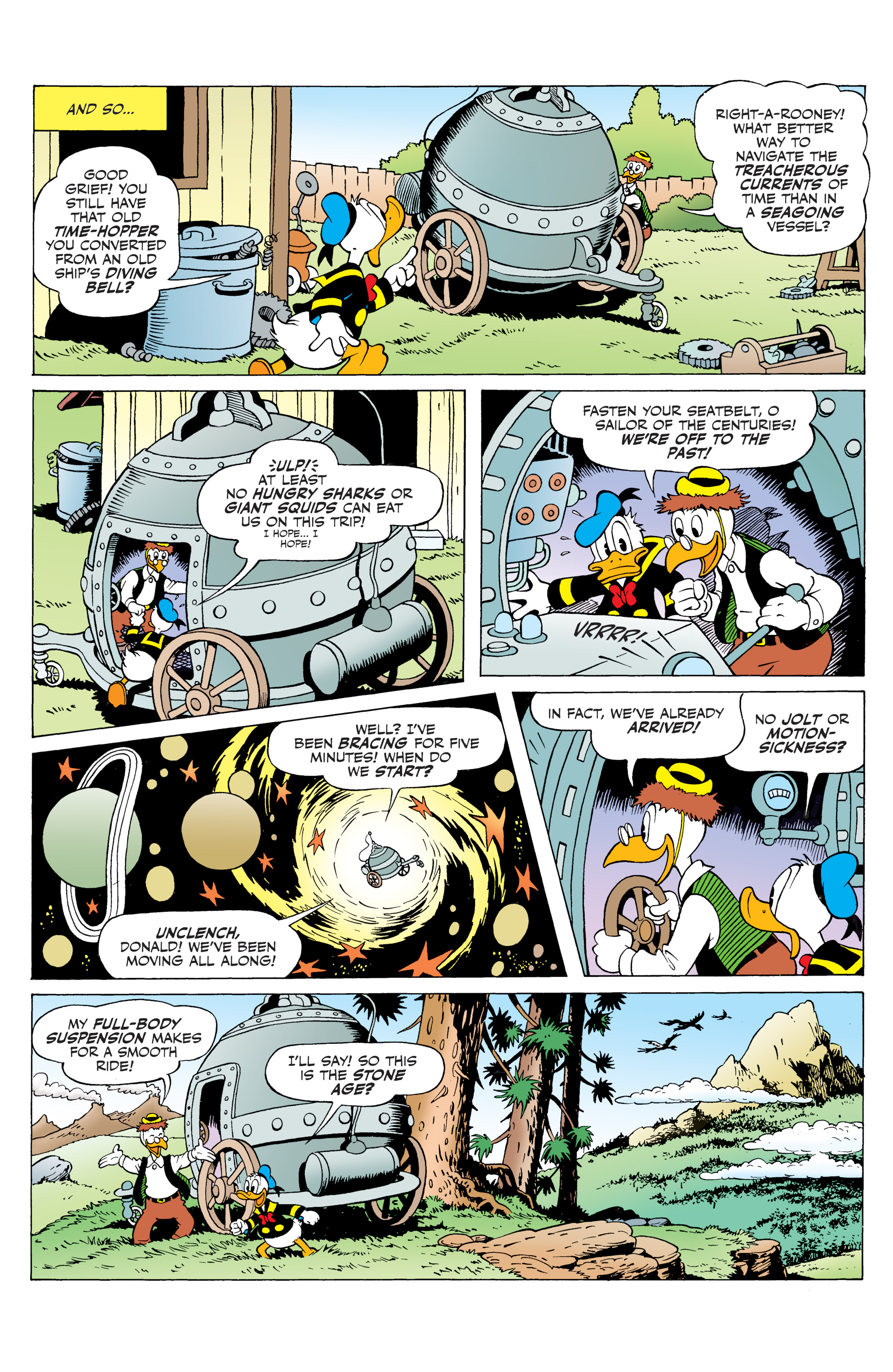 Read online Donald Duck (2015) comic -  Issue #20 - 25