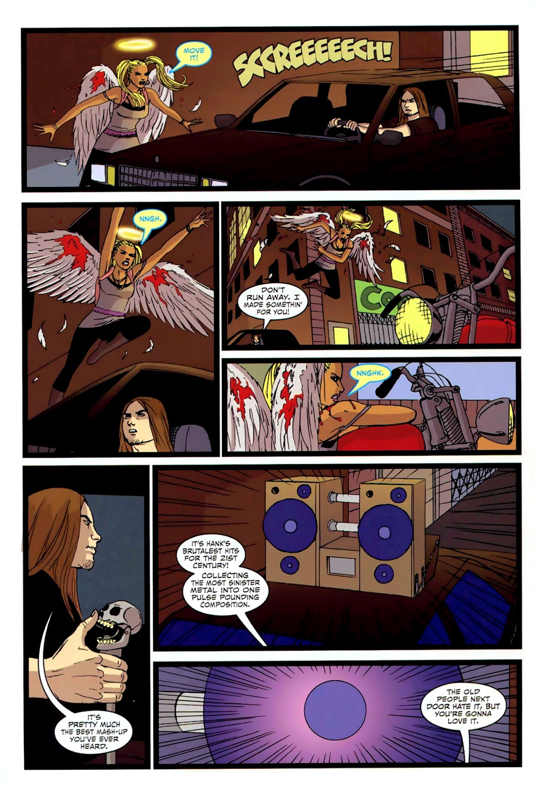 Read online Mercy Sparx (2008) comic -  Issue #2 - 20