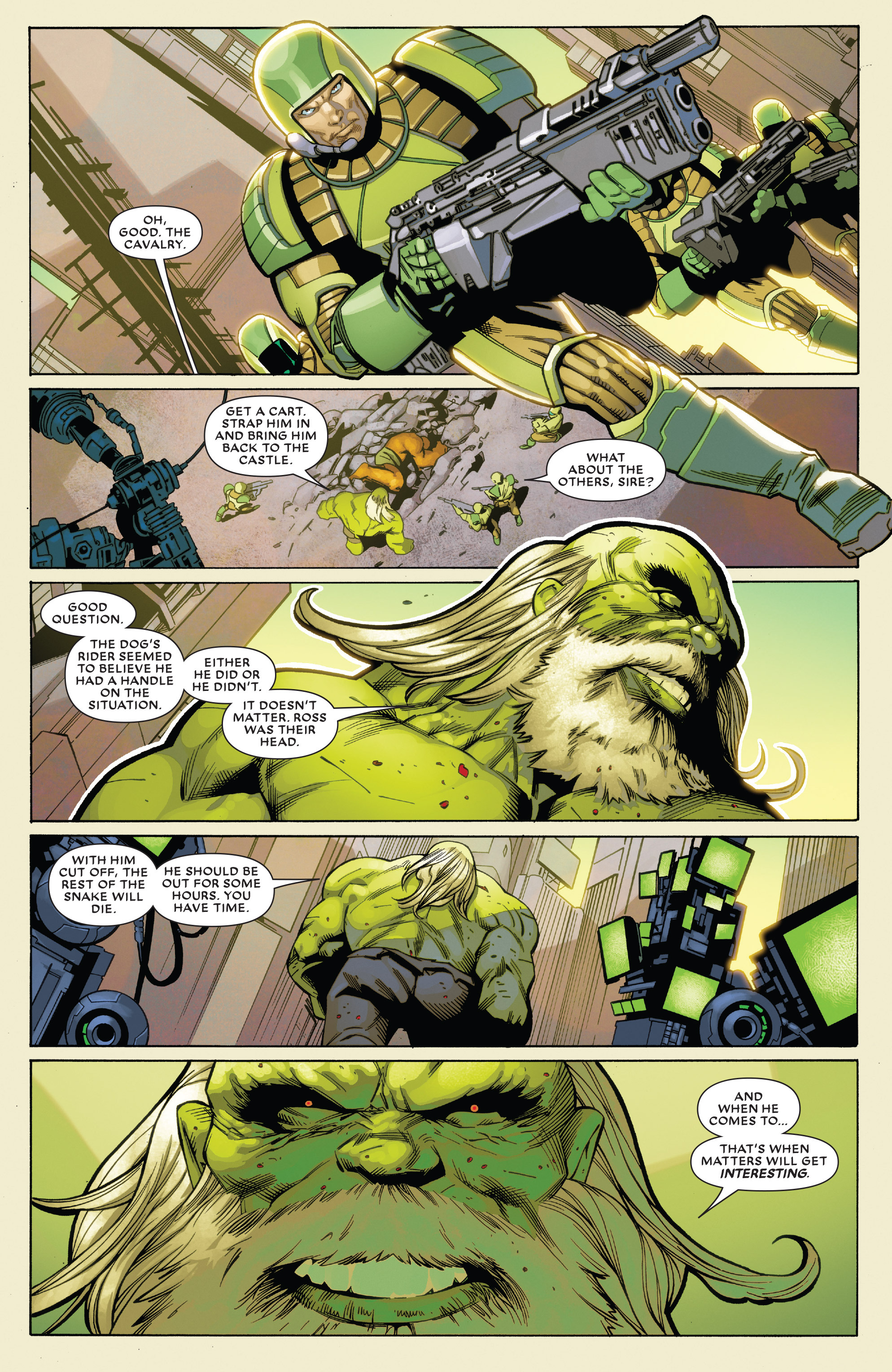 Read online Future Imperfect comic -  Issue #2 - 20