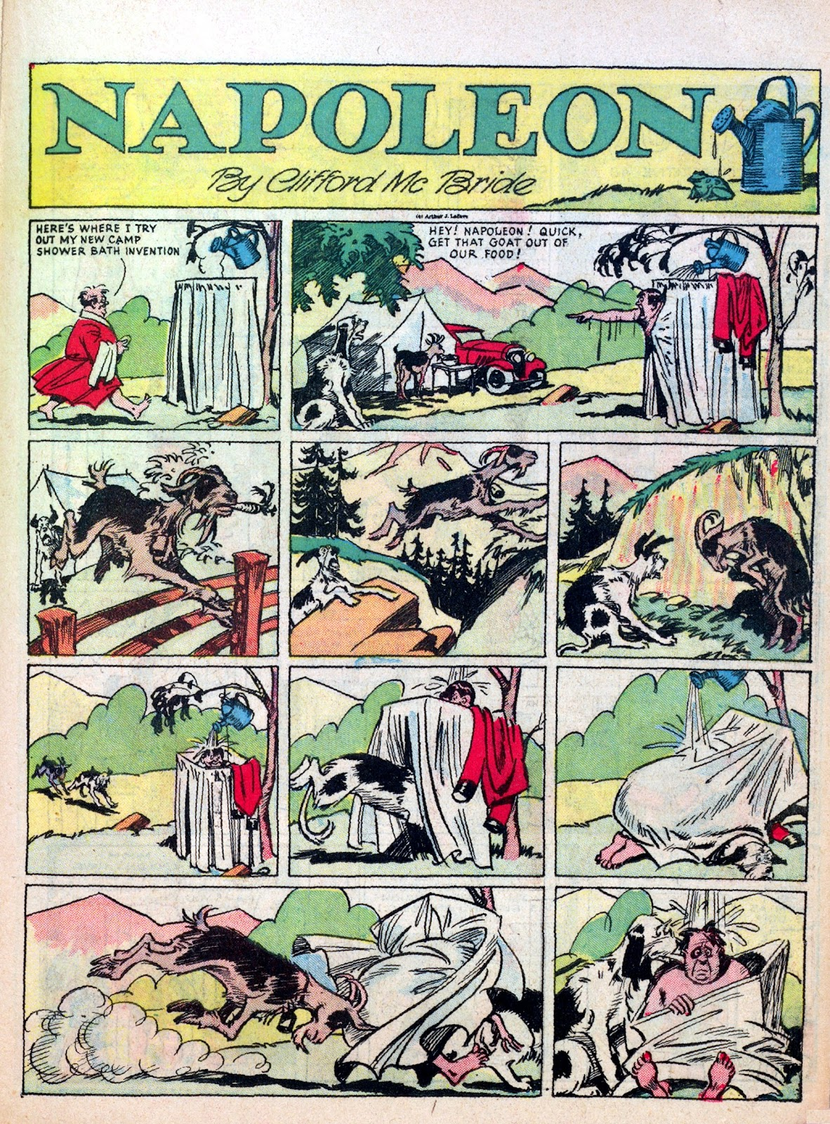 Read online Famous Funnies comic -  Issue #7 - 45