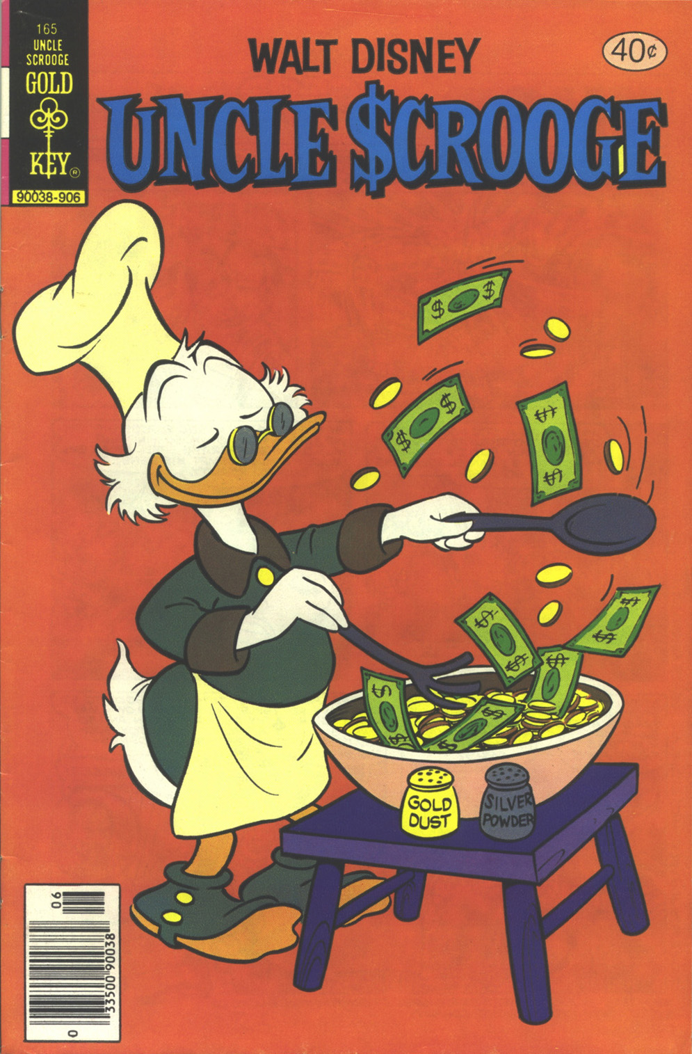 Read online Uncle Scrooge (1953) comic -  Issue #165 - 1