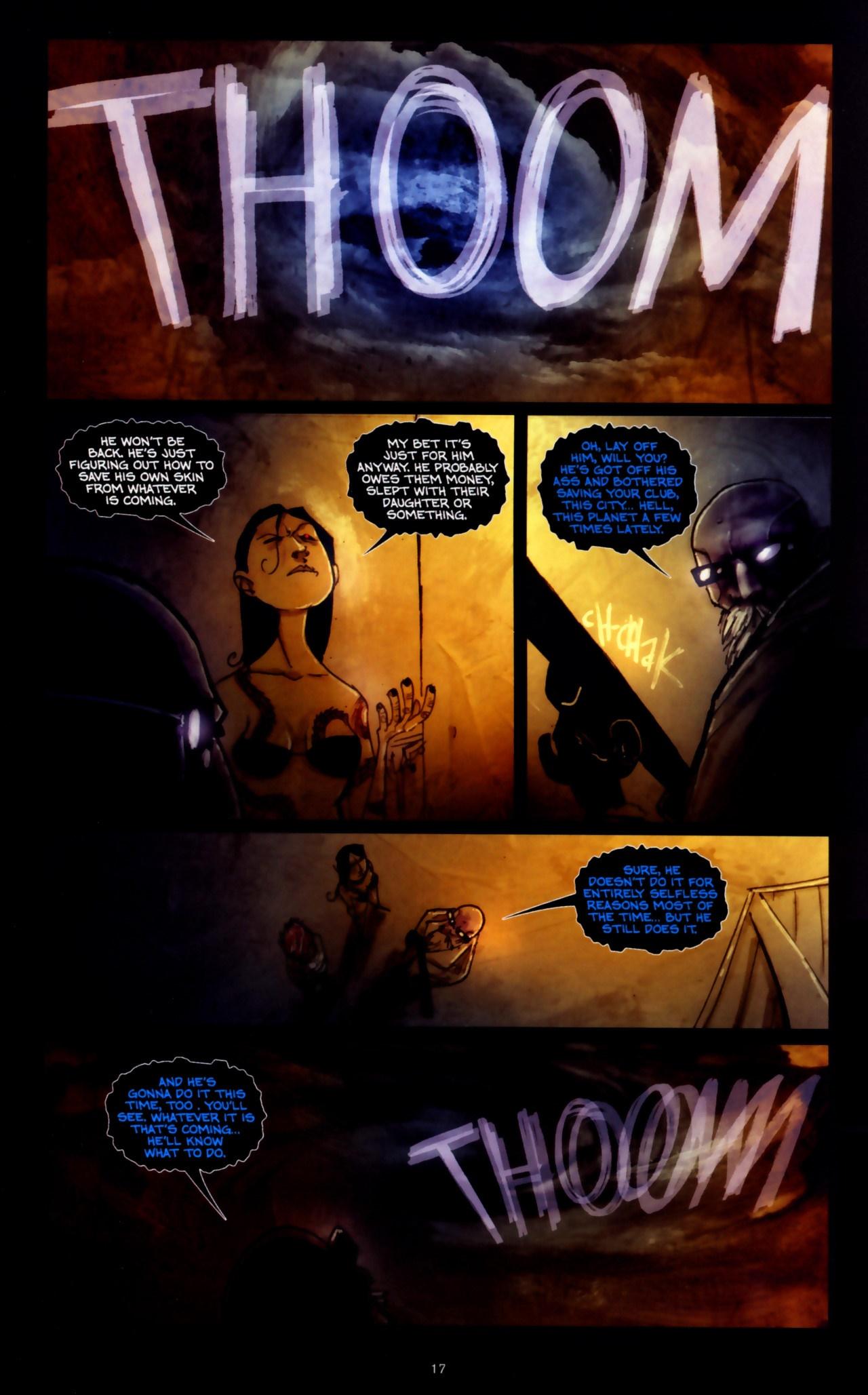 Read online Wormwood: Gentleman Corpse comic -  Issue #9 - 19