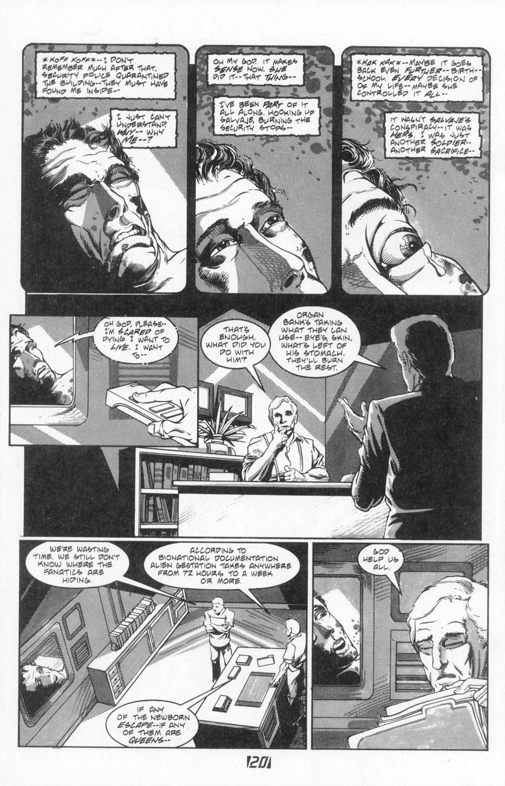 Read online Aliens (1988) comic -  Issue #4 - 22