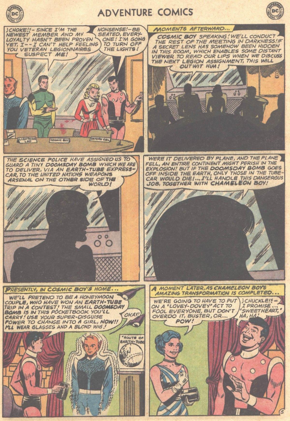 Read online Adventure Comics (1938) comic -  Issue #303 - 25