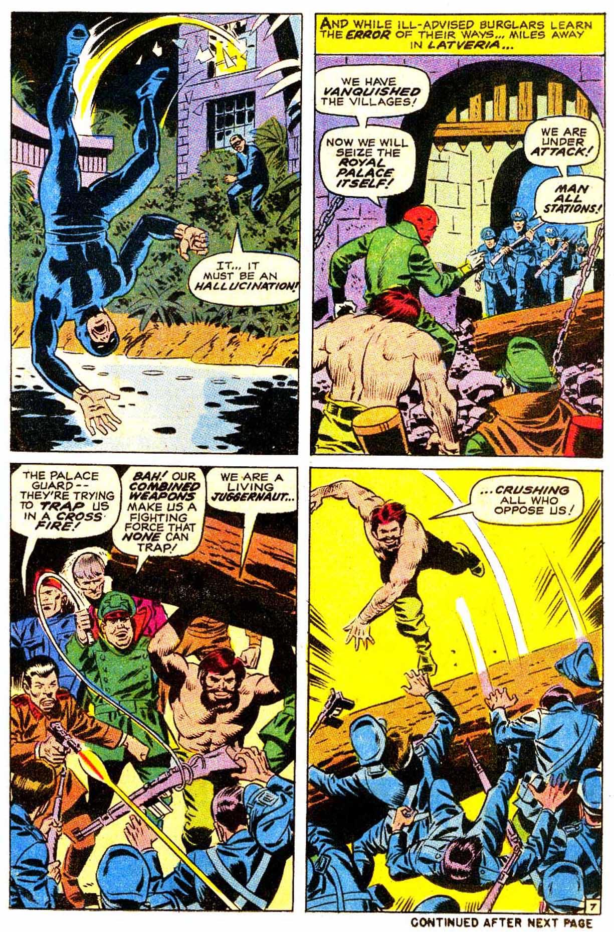 Read online Astonishing Tales (1970) comic -  Issue #4 - 8