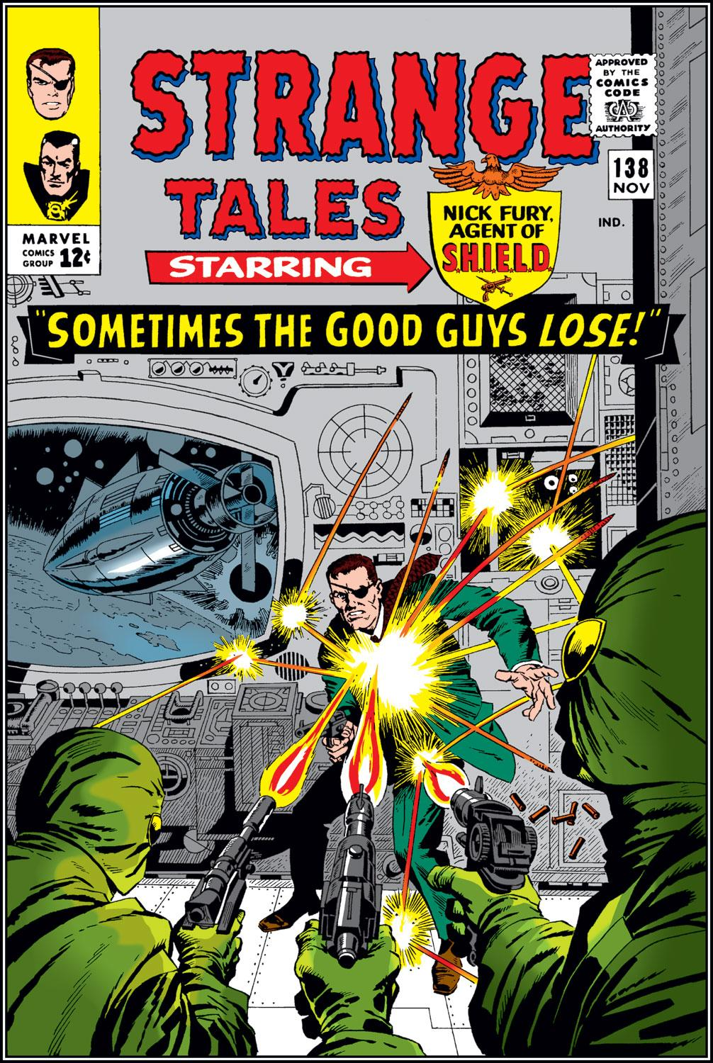 Strange Tales (1951) issue 138 - Page 1