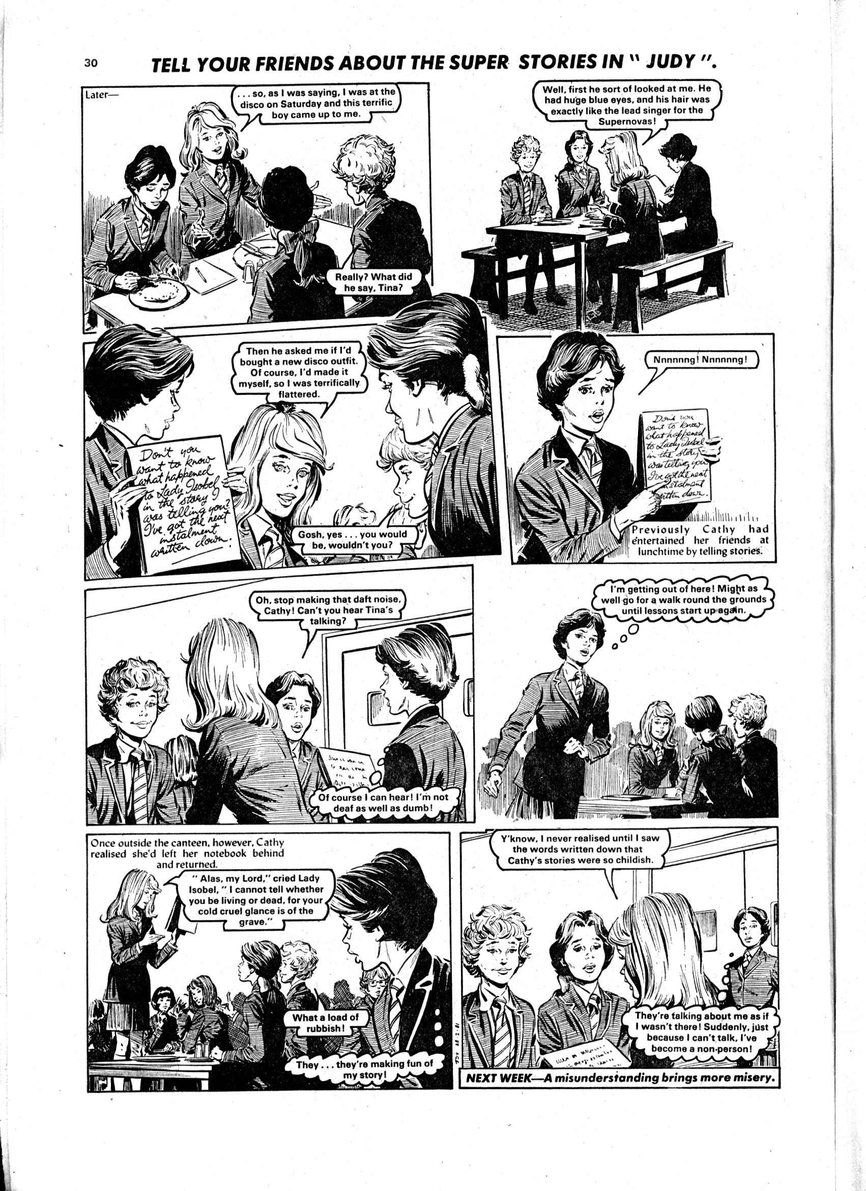 Read online Judy comic -  Issue #1103 - 30