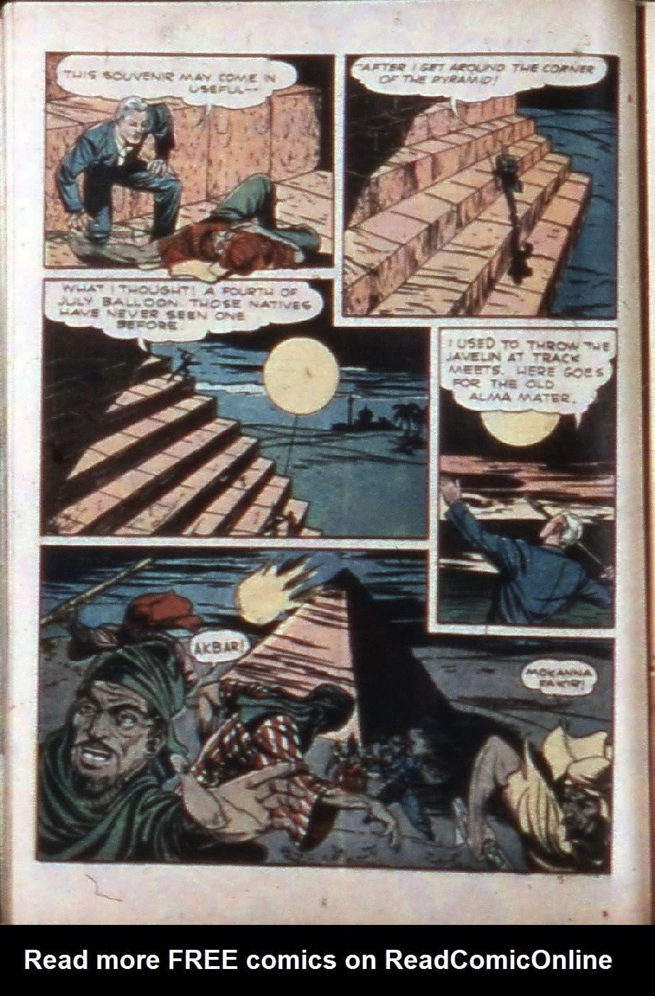 Read online Super-Magician Comics comic -  Issue #3 - 22