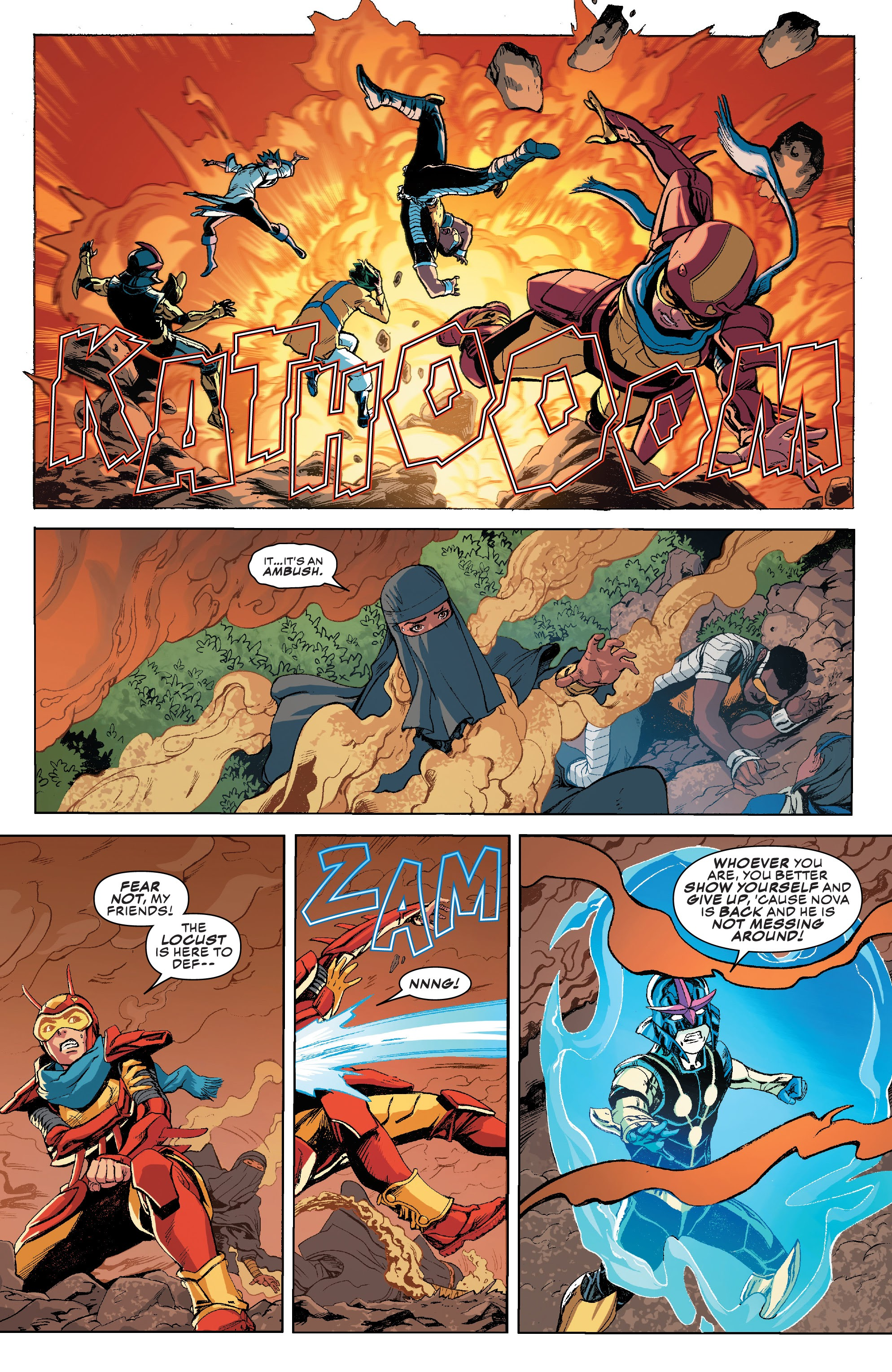 Read online Champions (2019) comic -  Issue #9 - 4