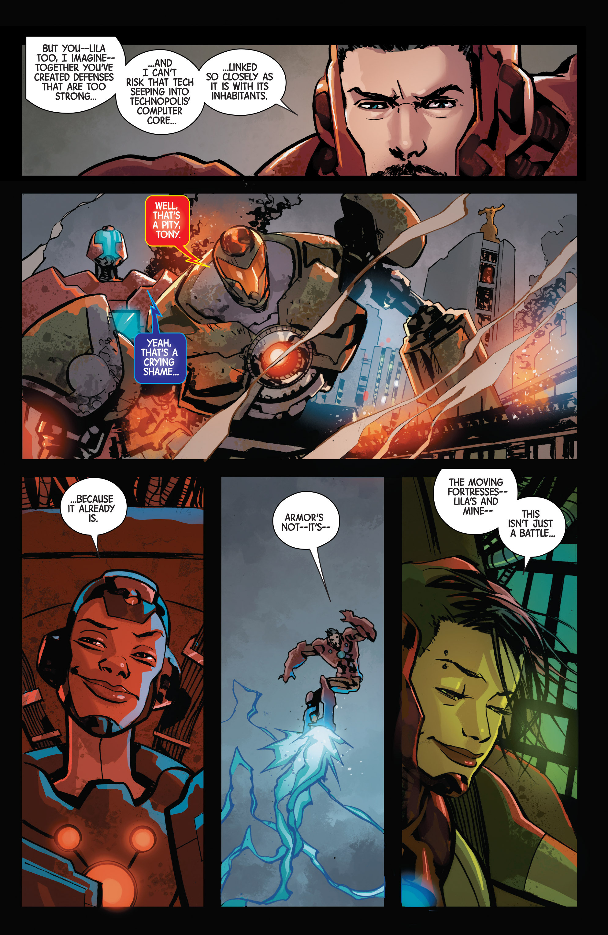 Read online Armor Wars comic -  Issue #5 - 15