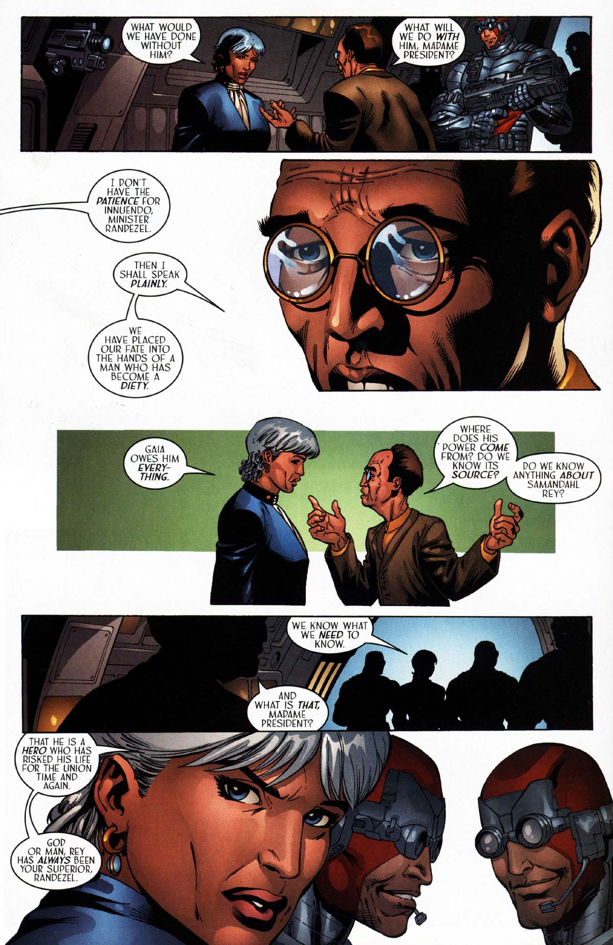 Read online Sigil (2000) comic -  Issue #27 - 21