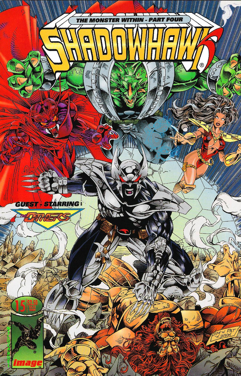 Read online ShadowHawk comic -  Issue #15 - 1