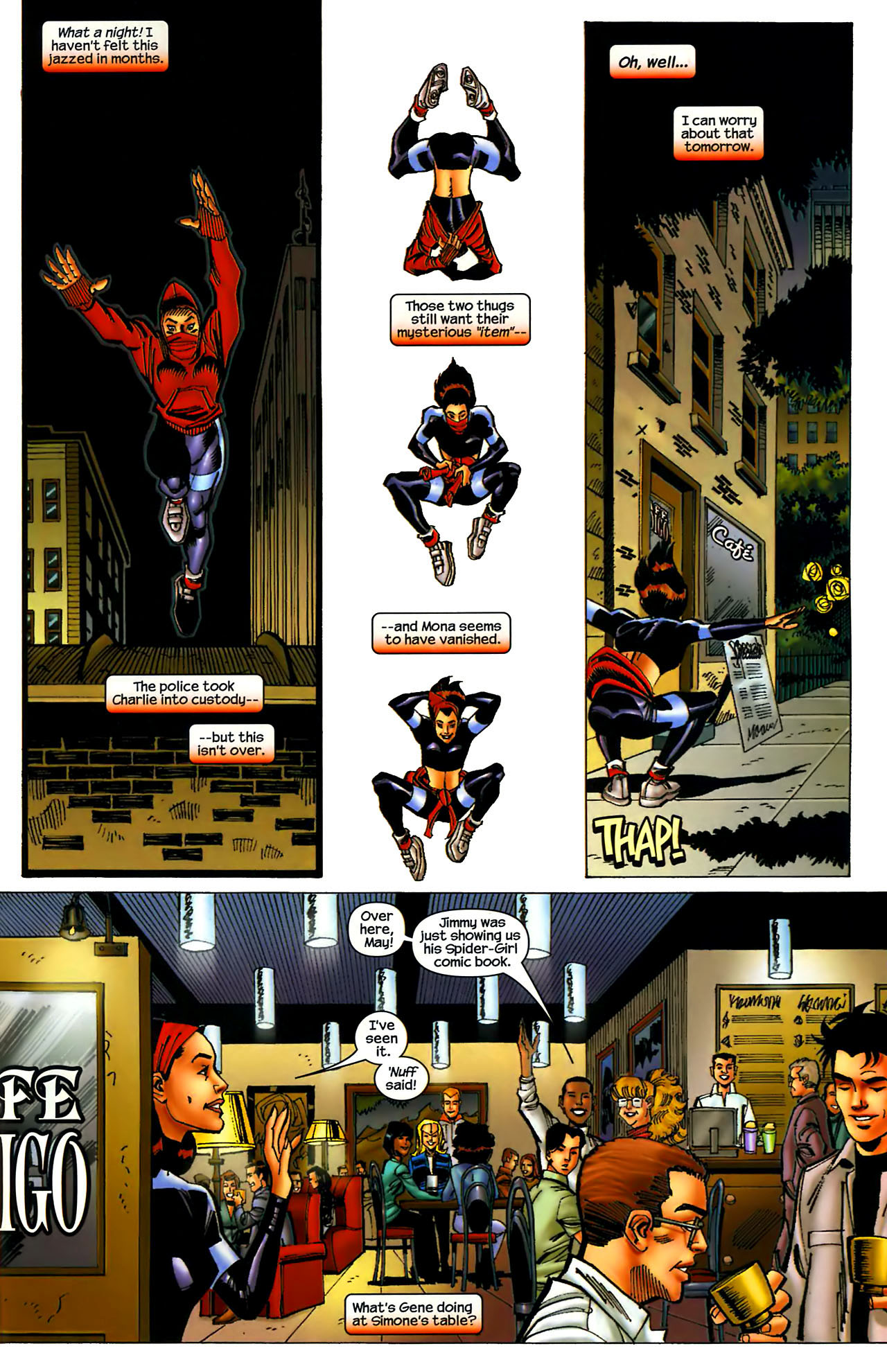 Read online Amazing Spider-Girl comic -  Issue #1 - 22