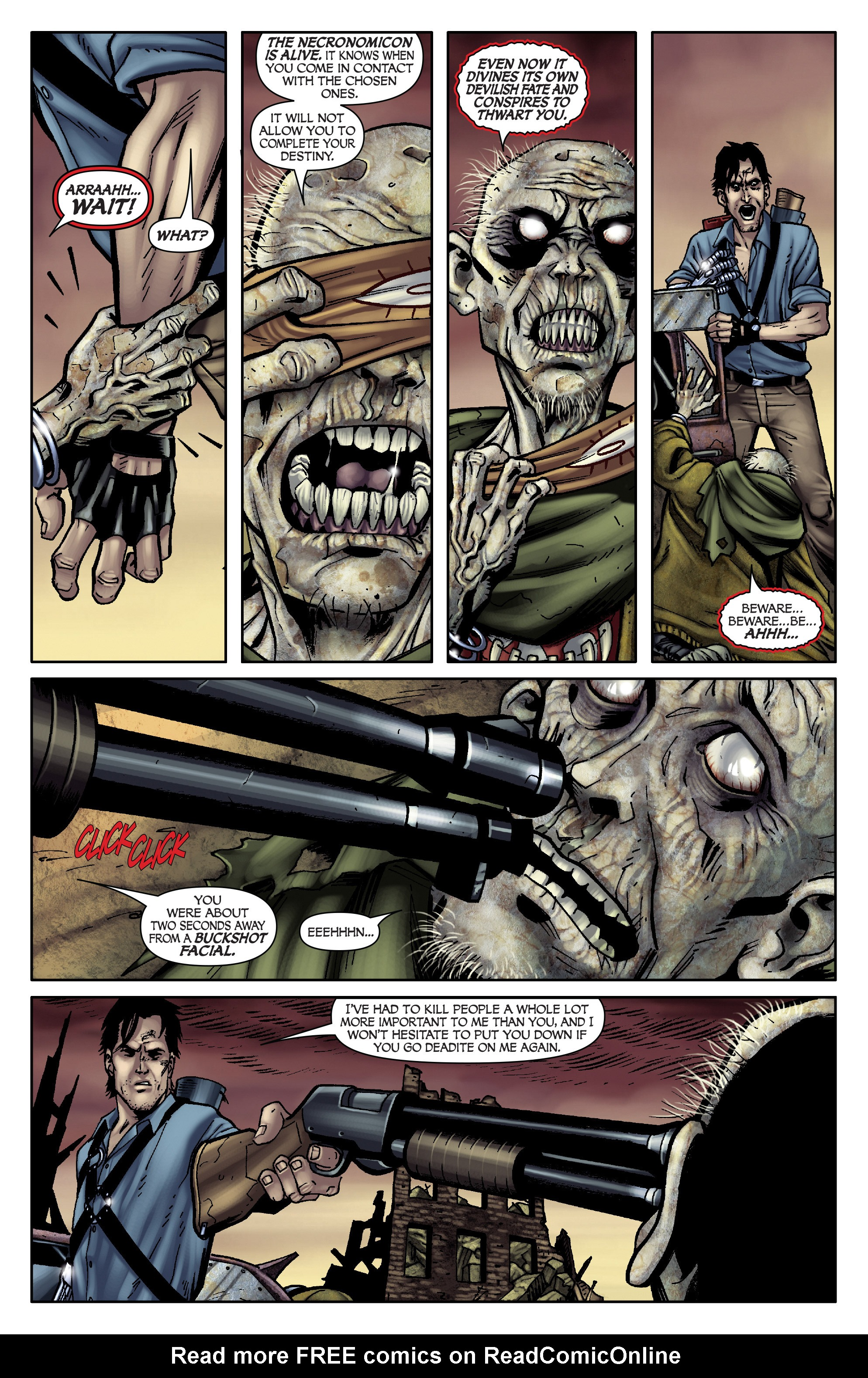 Read online Army of Darkness: From the Ashes comic -  Issue #Army of Darkness: From the Ashes TPB - 35