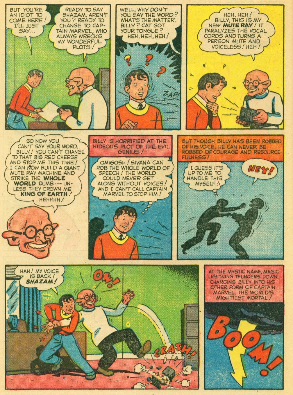 Captain Marvel Adventures issue 130 - Page 4