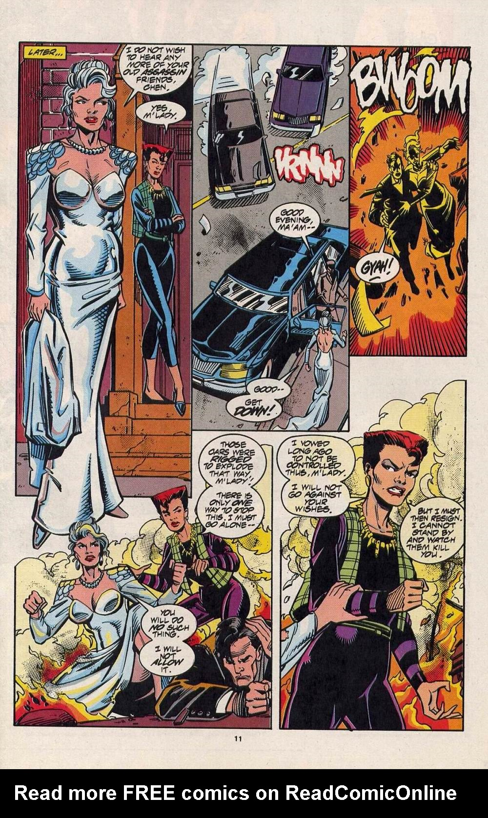 Read online Silver Sable and the Wild Pack comic -  Issue #28 - 9