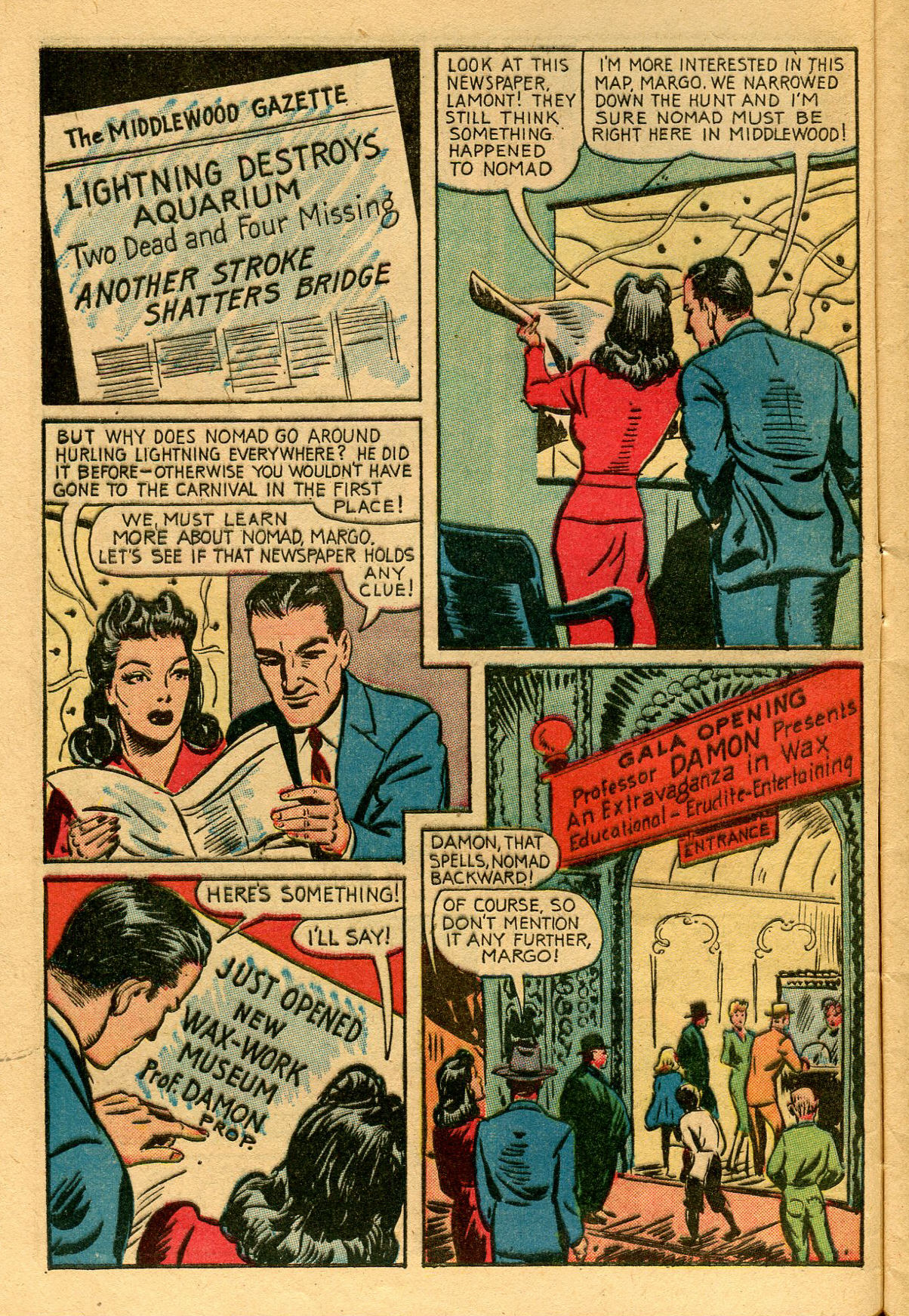 Read online Shadow Comics comic -  Issue #53 - 9