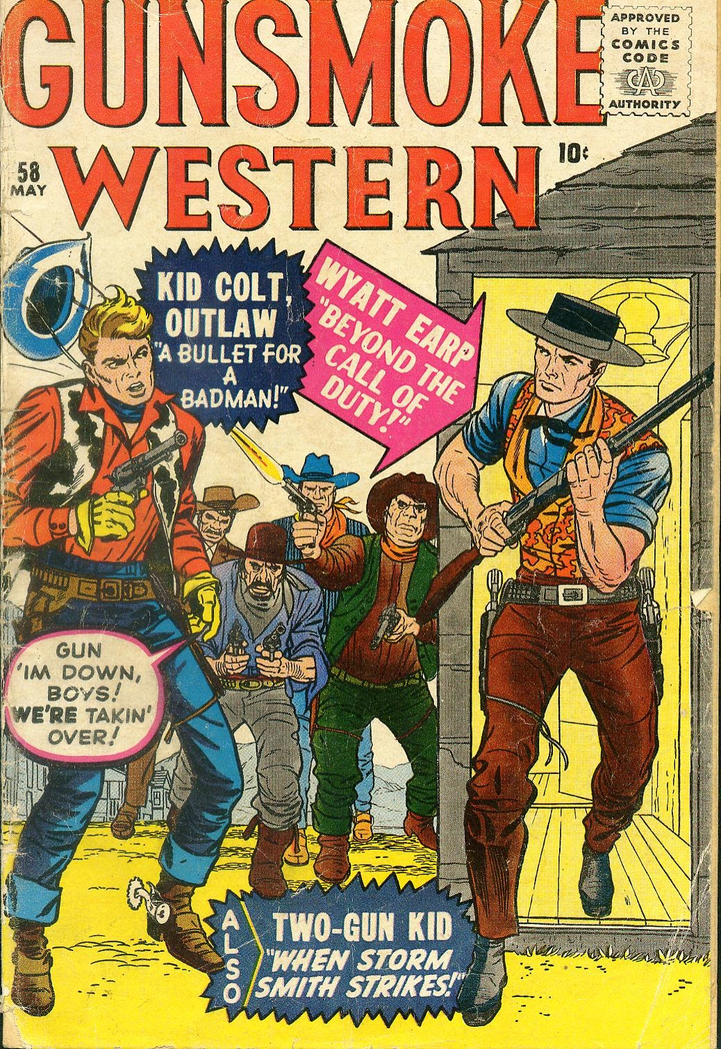Gunsmoke Western issue 58 - Page 1