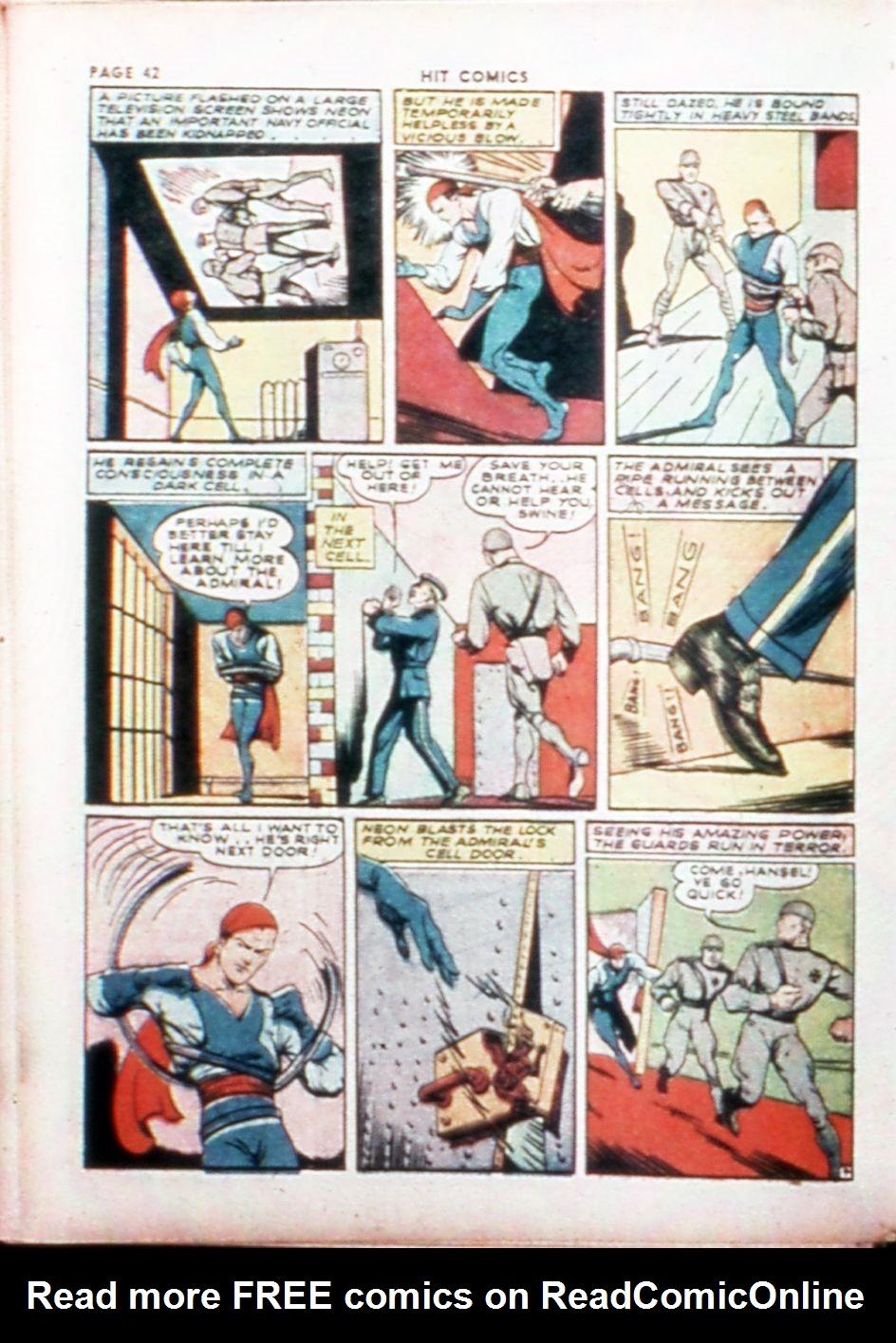 Read online Hit Comics comic -  Issue #14 - 44