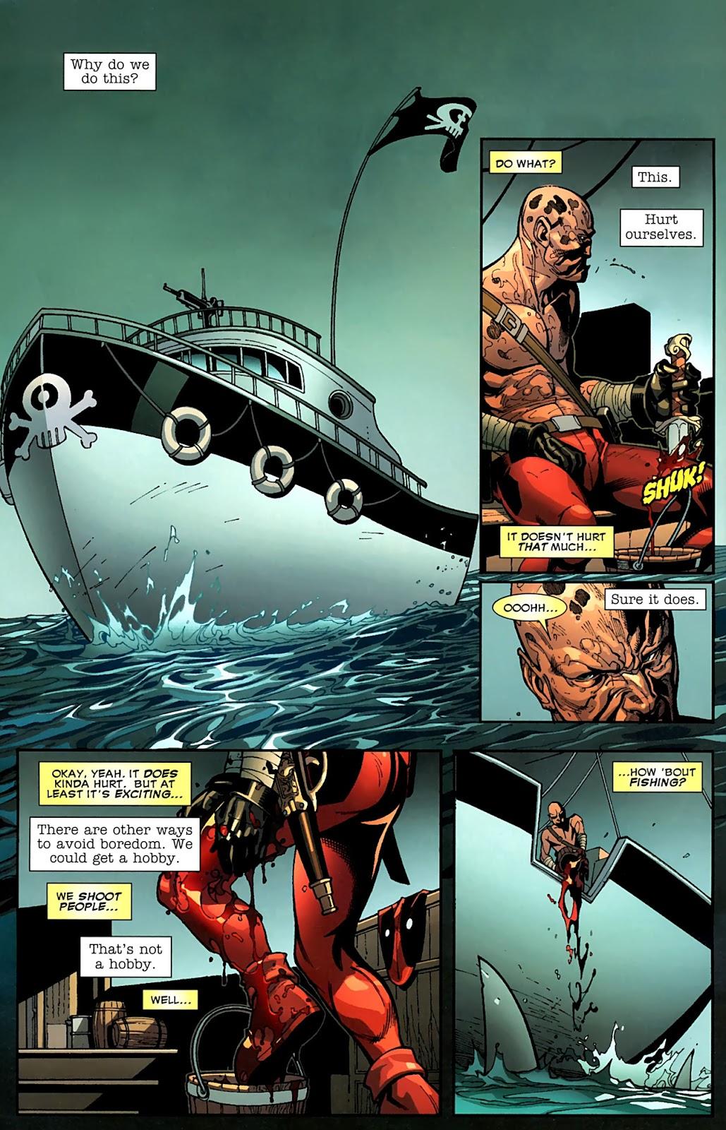Read online Deadpool (2008) comic -  Issue #15 - 3