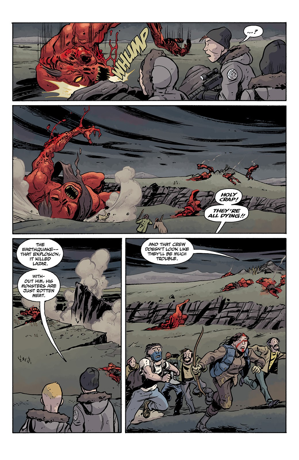 Read online B.P.R.D. Hell on Earth: The Return of the Master comic -  Issue #5 - 10