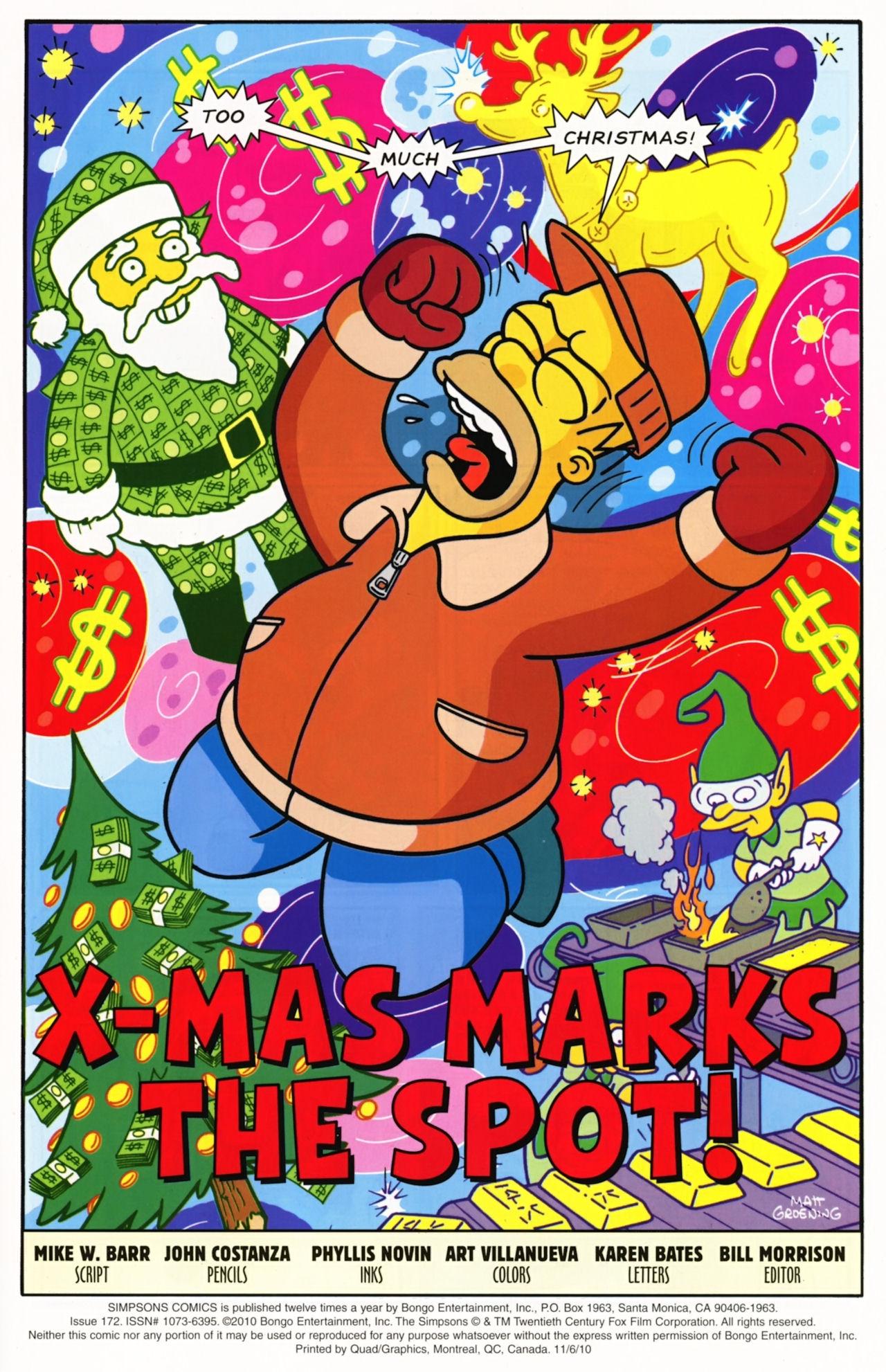 Read online Simpsons Comics comic -  Issue #172 - 3
