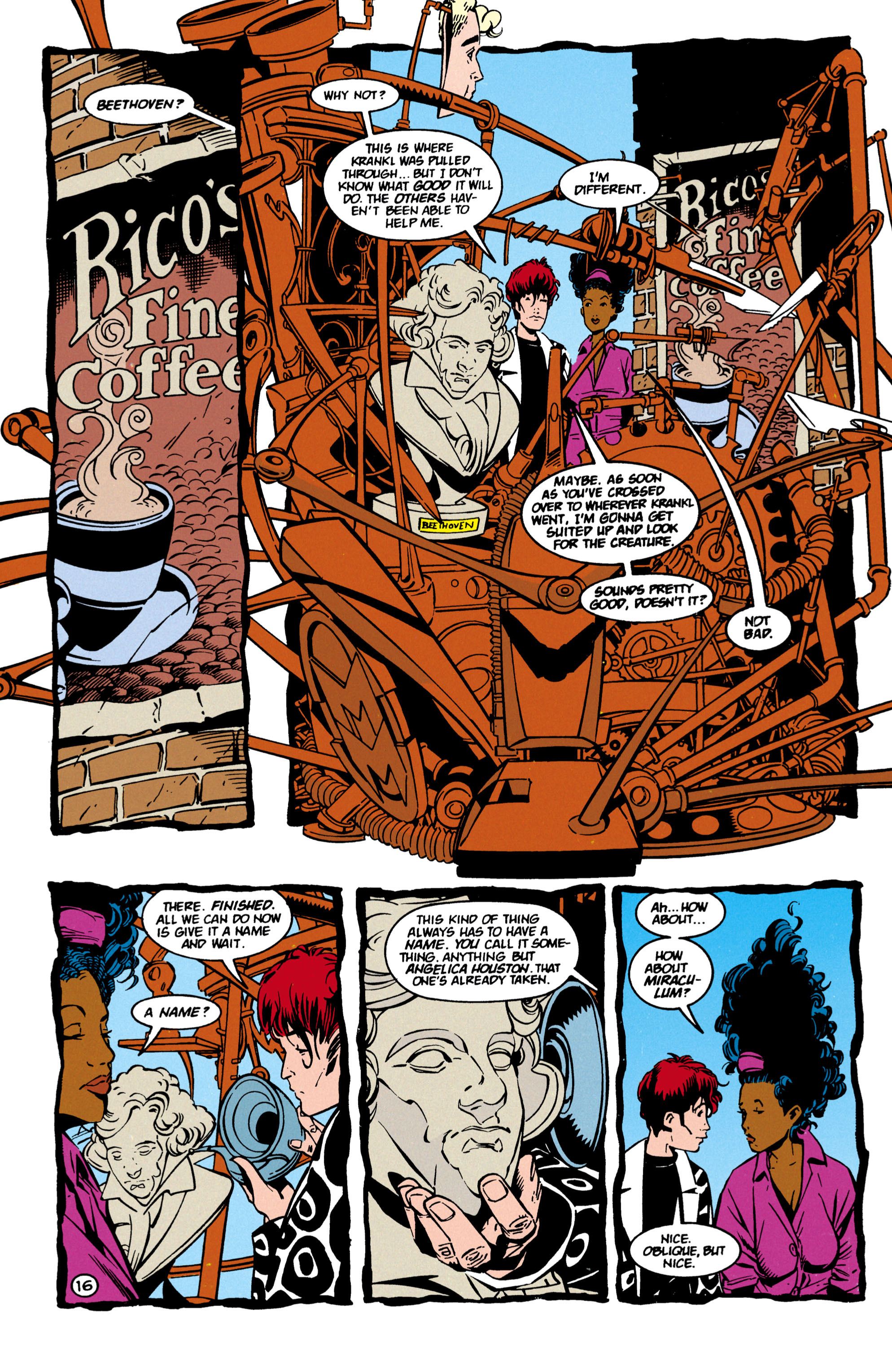 Read online Shade, the Changing Man comic -  Issue #60 - 17
