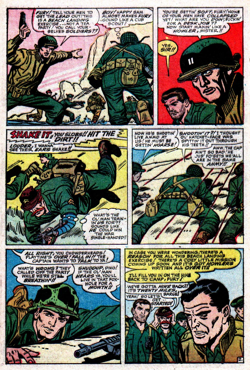 Read online Sgt. Fury comic -  Issue #10 - 4