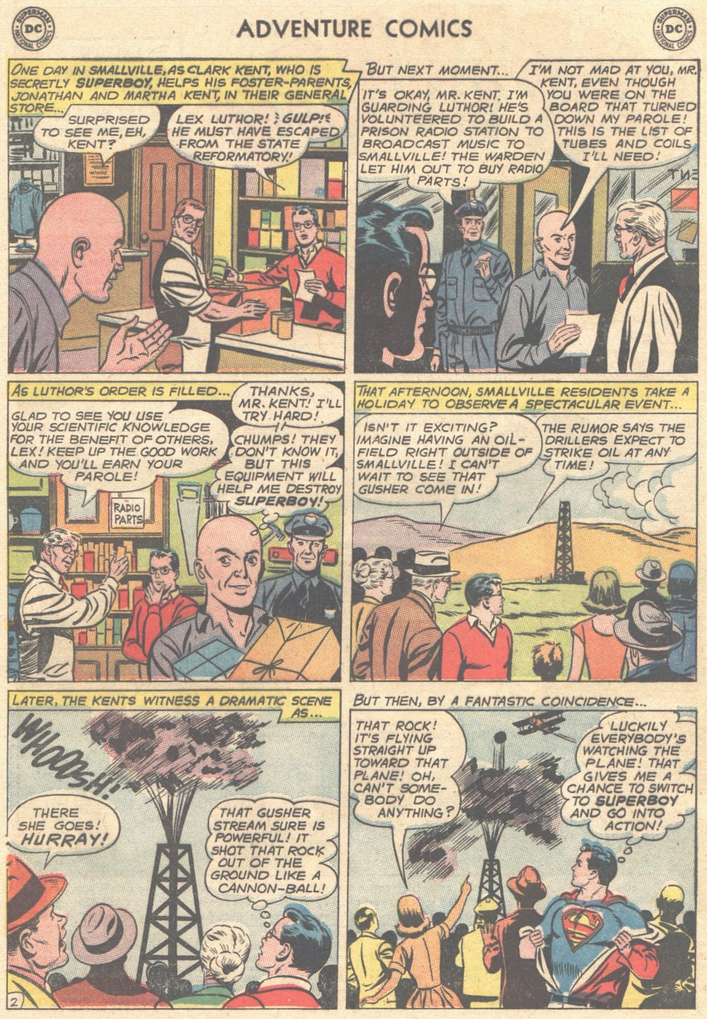 Read online Adventure Comics (1938) comic -  Issue #308 - 3